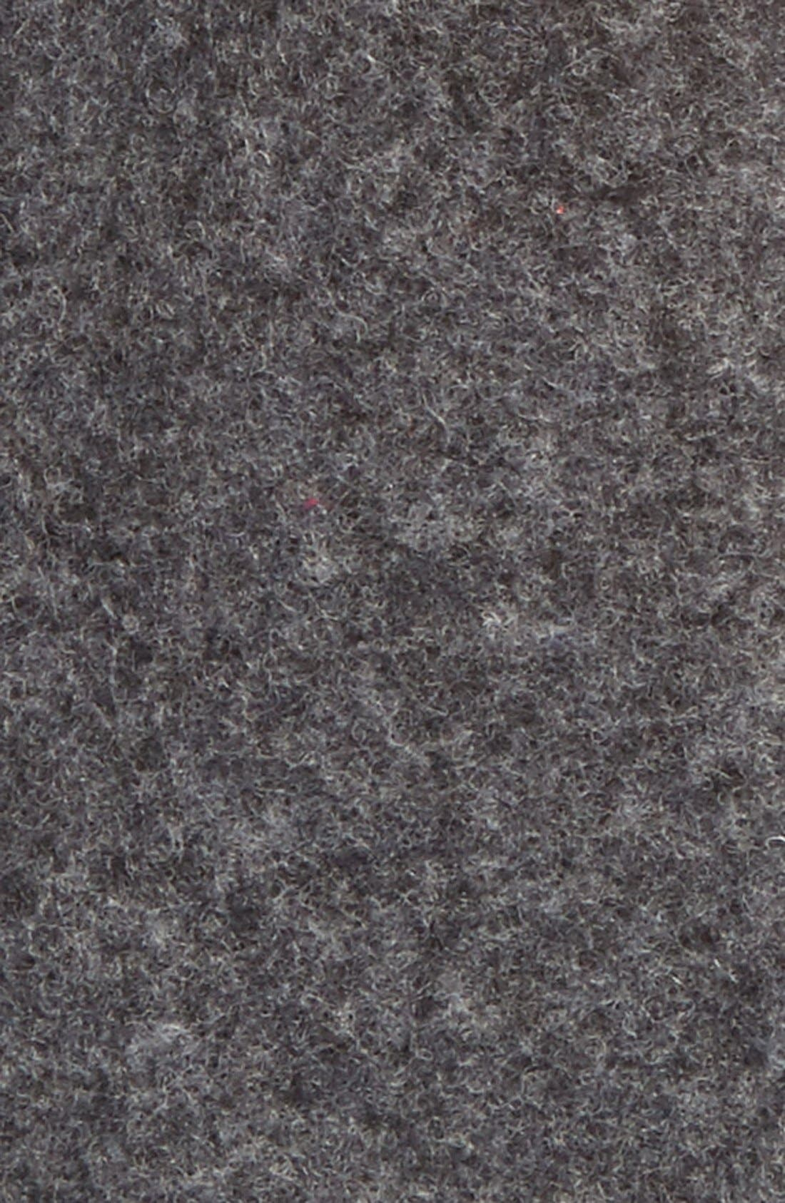 Wool Blend Tech Gloves,                             Alternate thumbnail 3, color,                             Charcoal