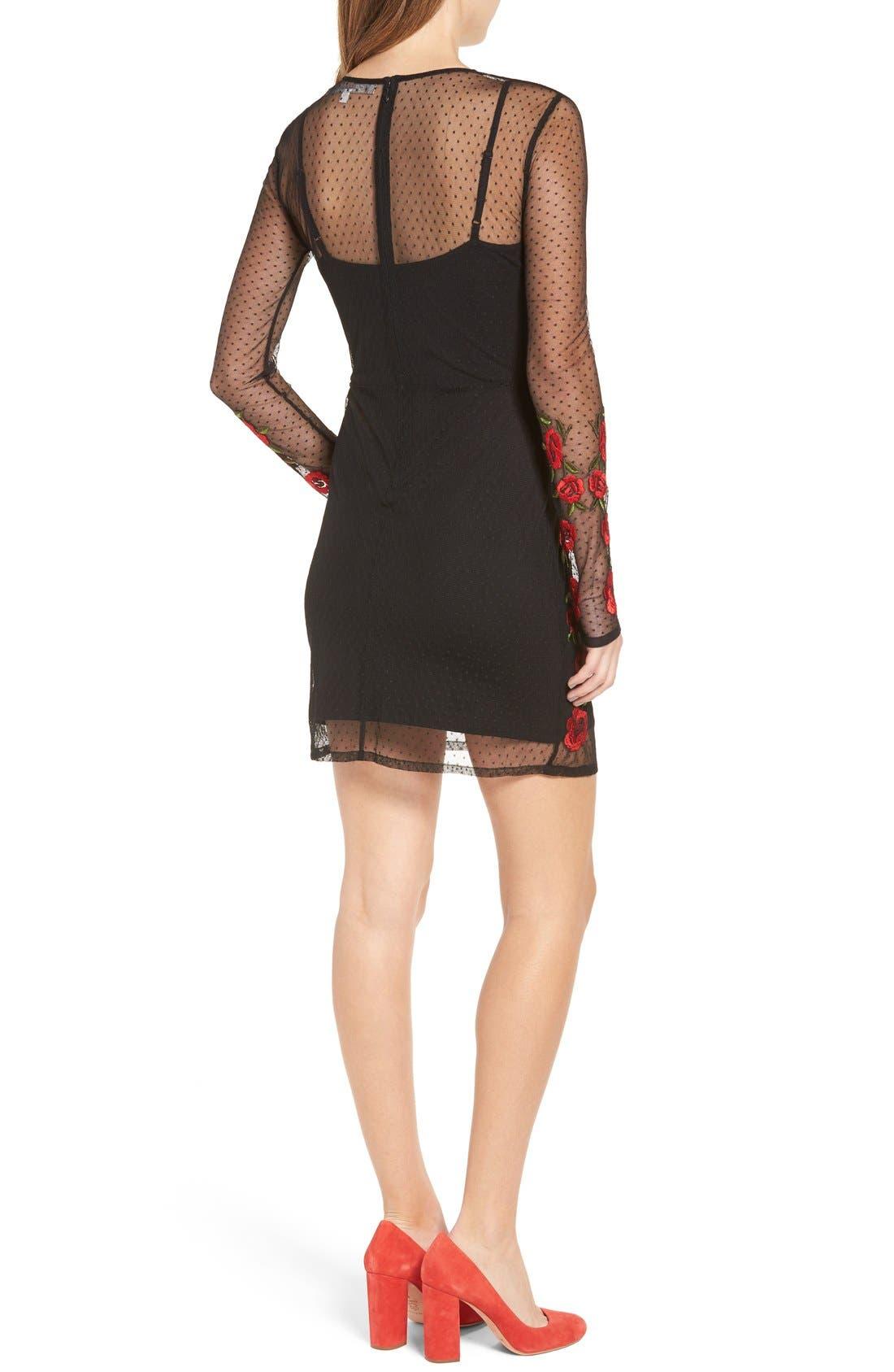 Alternate Image 3  - Lovers + Friends Morella Body-Con Dress