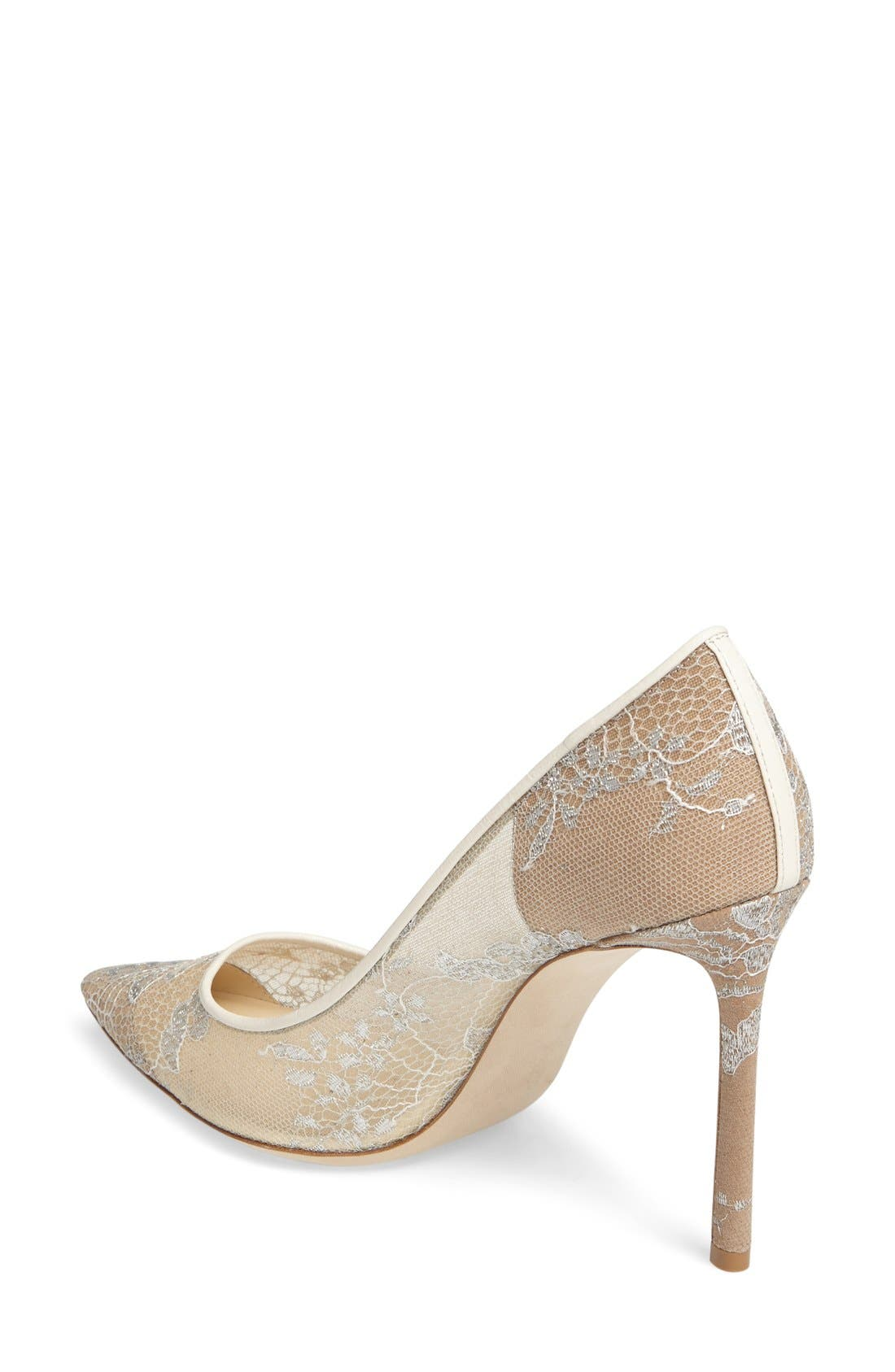 Alternate Image 2  - Jimmy Choo 'Romy' Lace Pump (Women)
