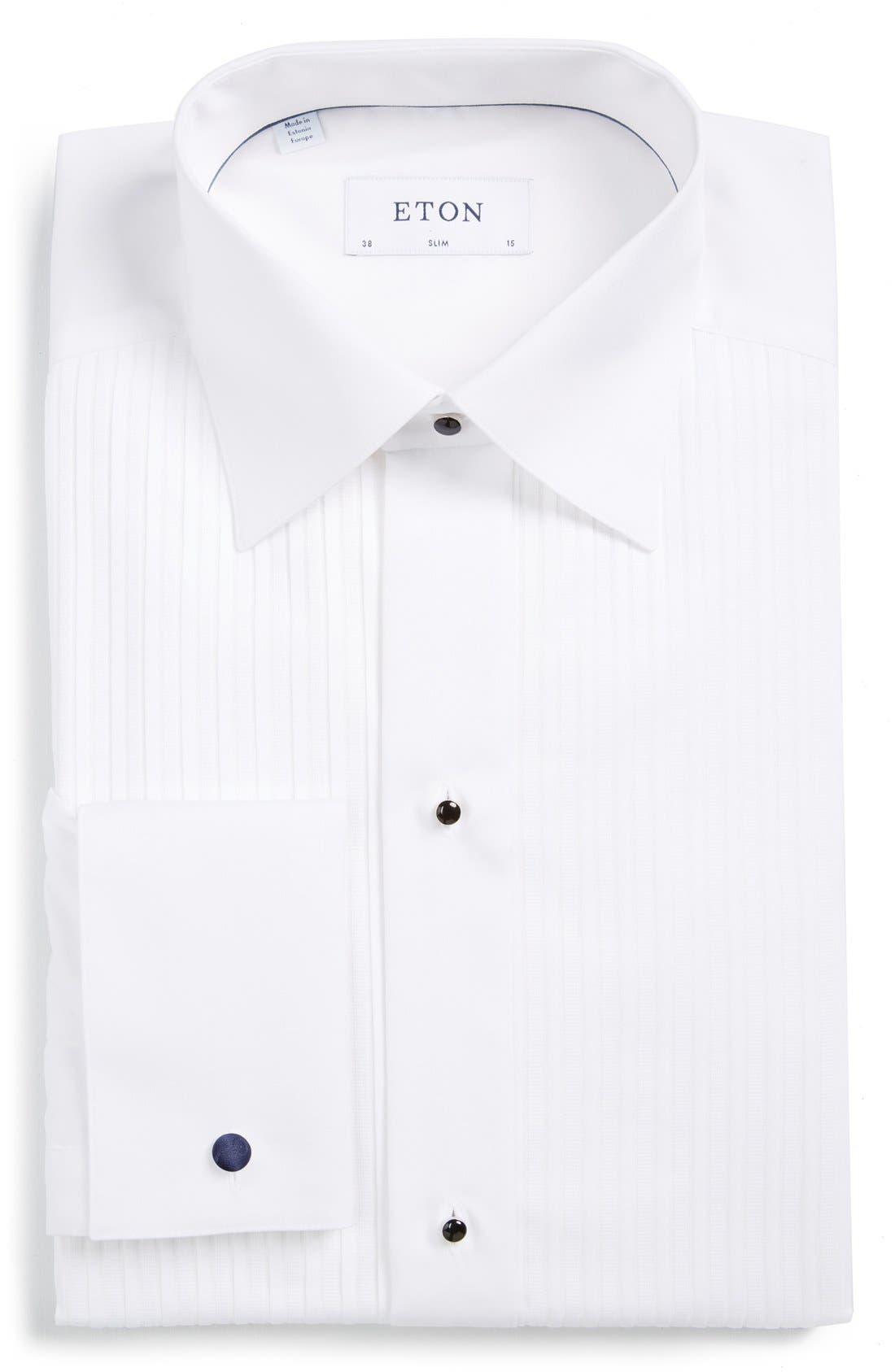 Alternate Image 1 Selected - Eton Slim Fit Tuxedo Shirt