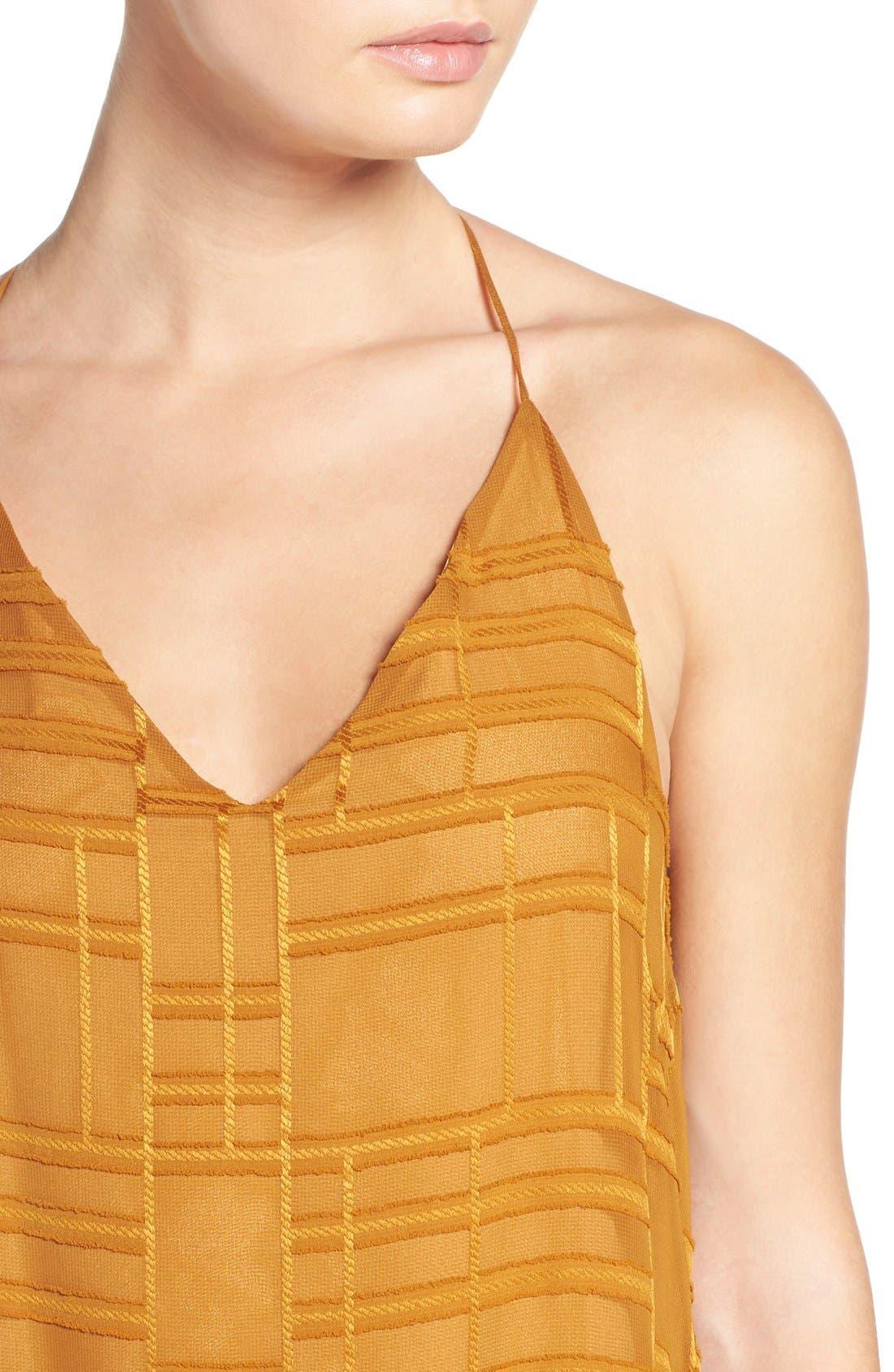 Alternate Image 4  - NSR Embroidered Maxi Dress