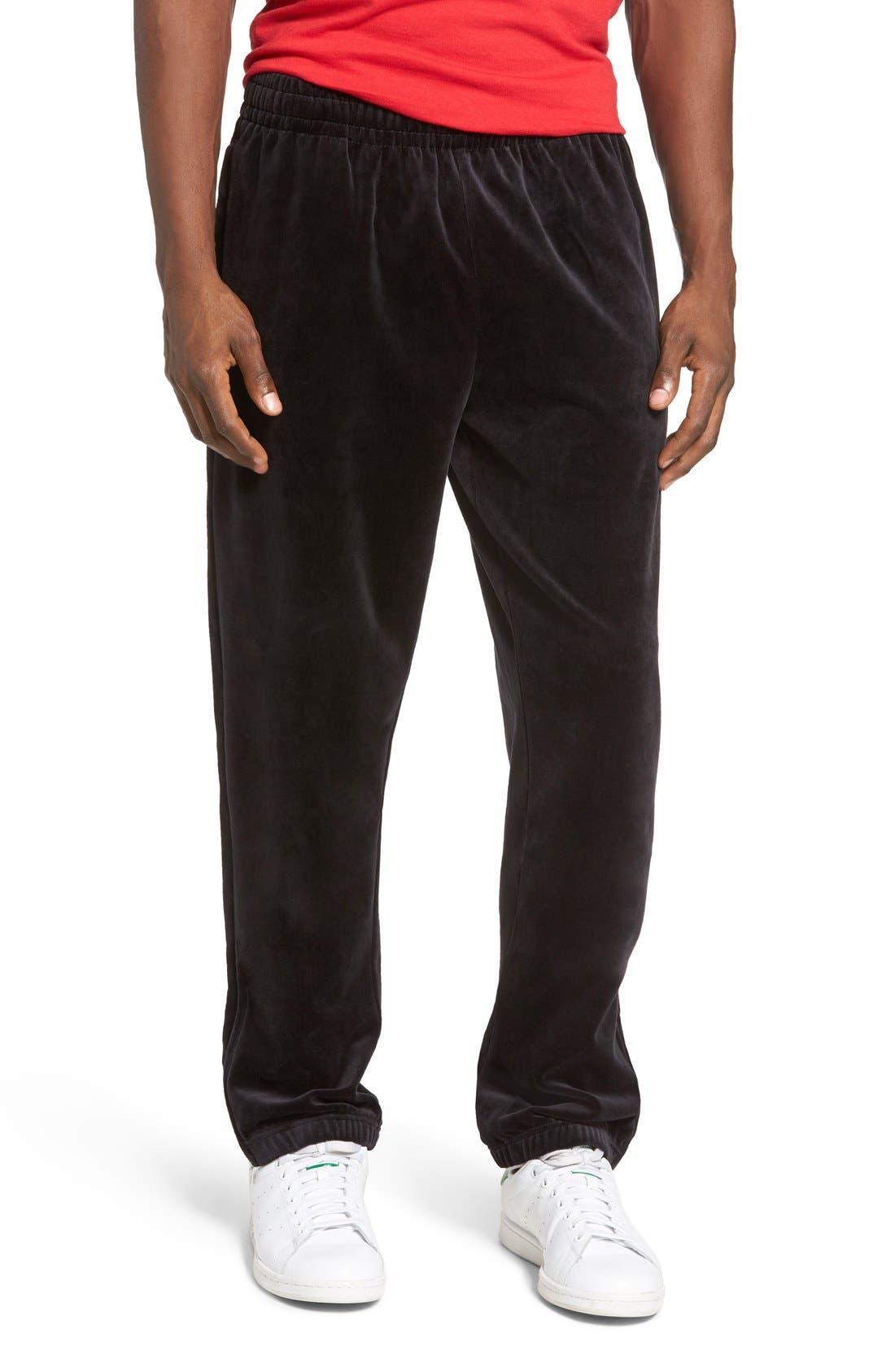 Main Image - FILA USA Slim Fit Velour Track Pants