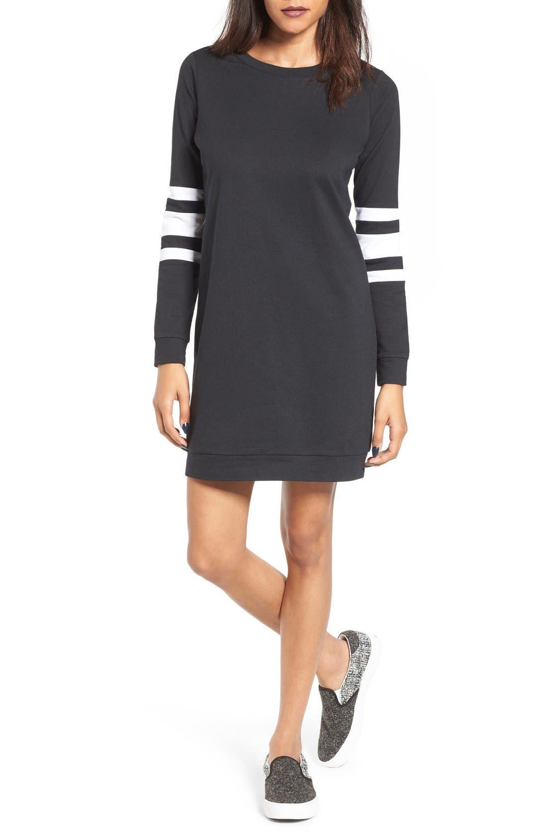 Fire Sweatshirt Dress