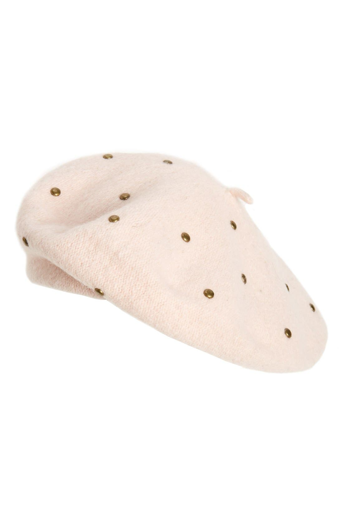 Alternate Image 1 Selected - Sole Society Studded Beret