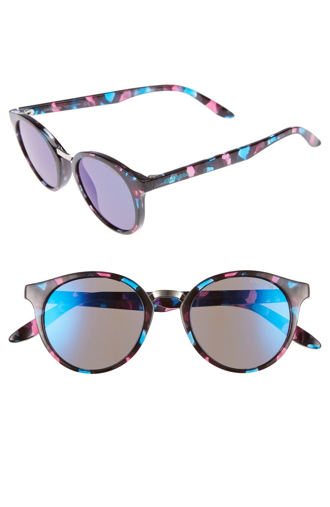 Alternate Image 1 Selected - Carrera Eyewear 49mm Round Sunglasses