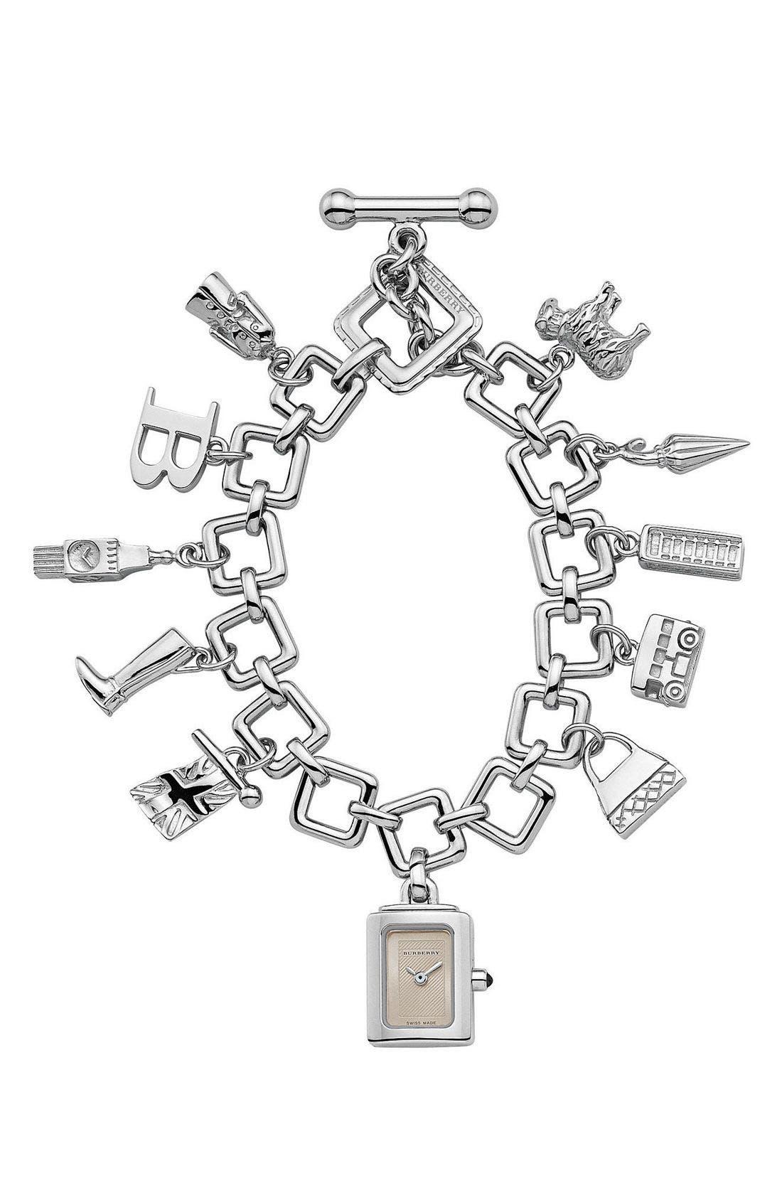burberry bracelet charm