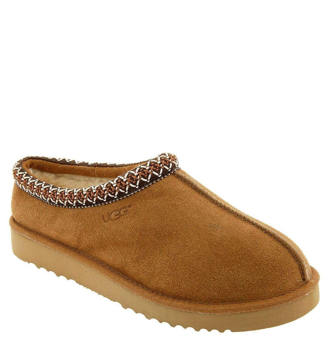'Tasman' Slipper,                             Main thumbnail 1, color,                             Chestnut