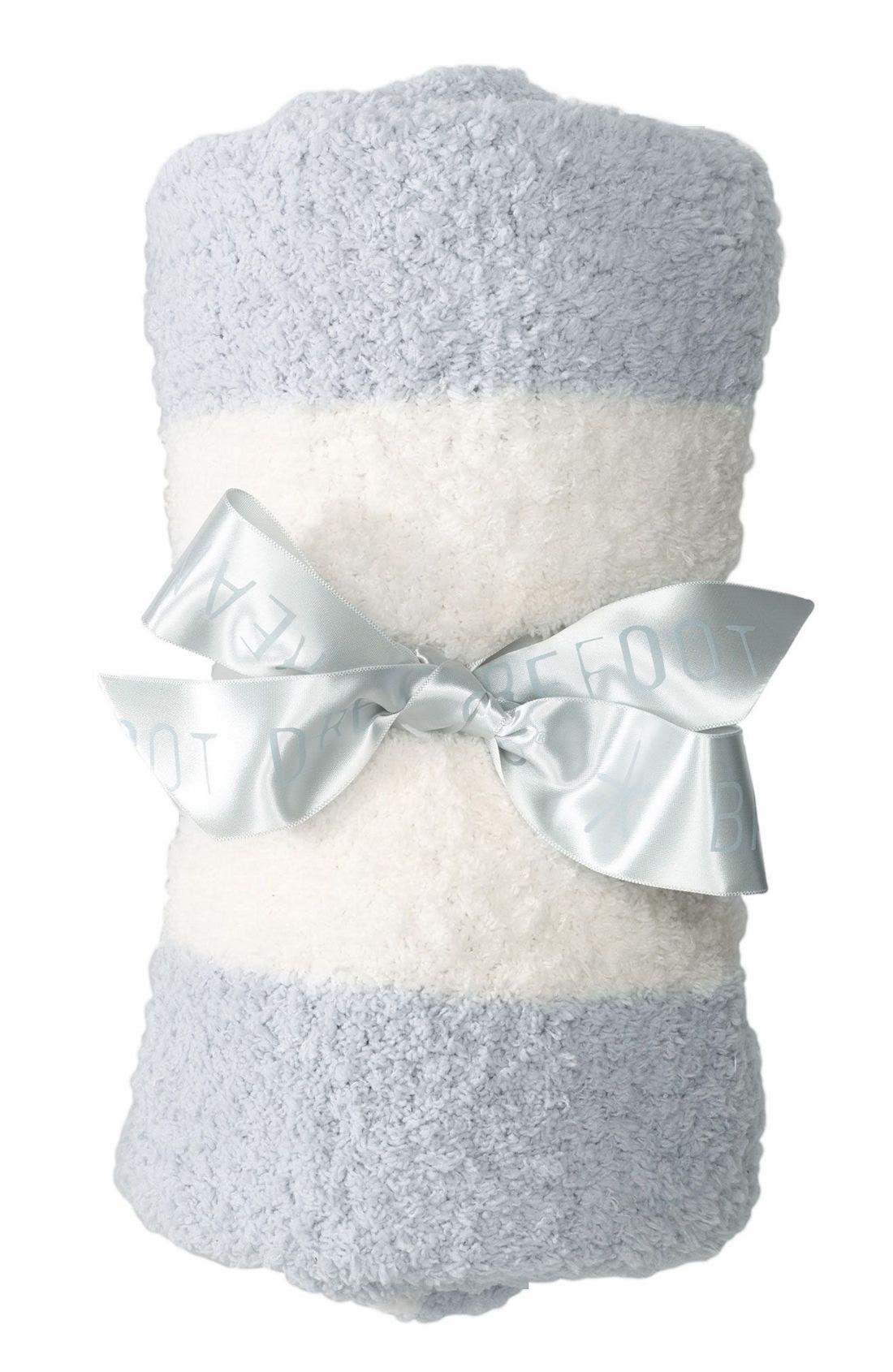 Main Image - Barefoot Dreams® CozyChic® Stripe Blanket