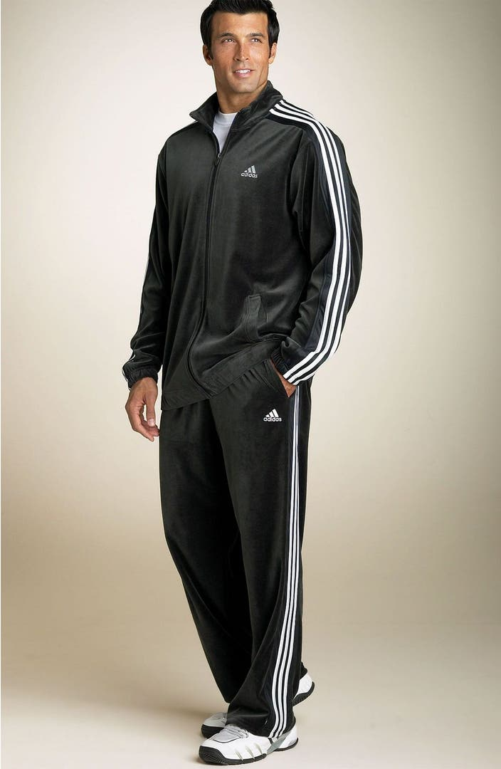 Adidas Velour Tracksuit Nordstrom