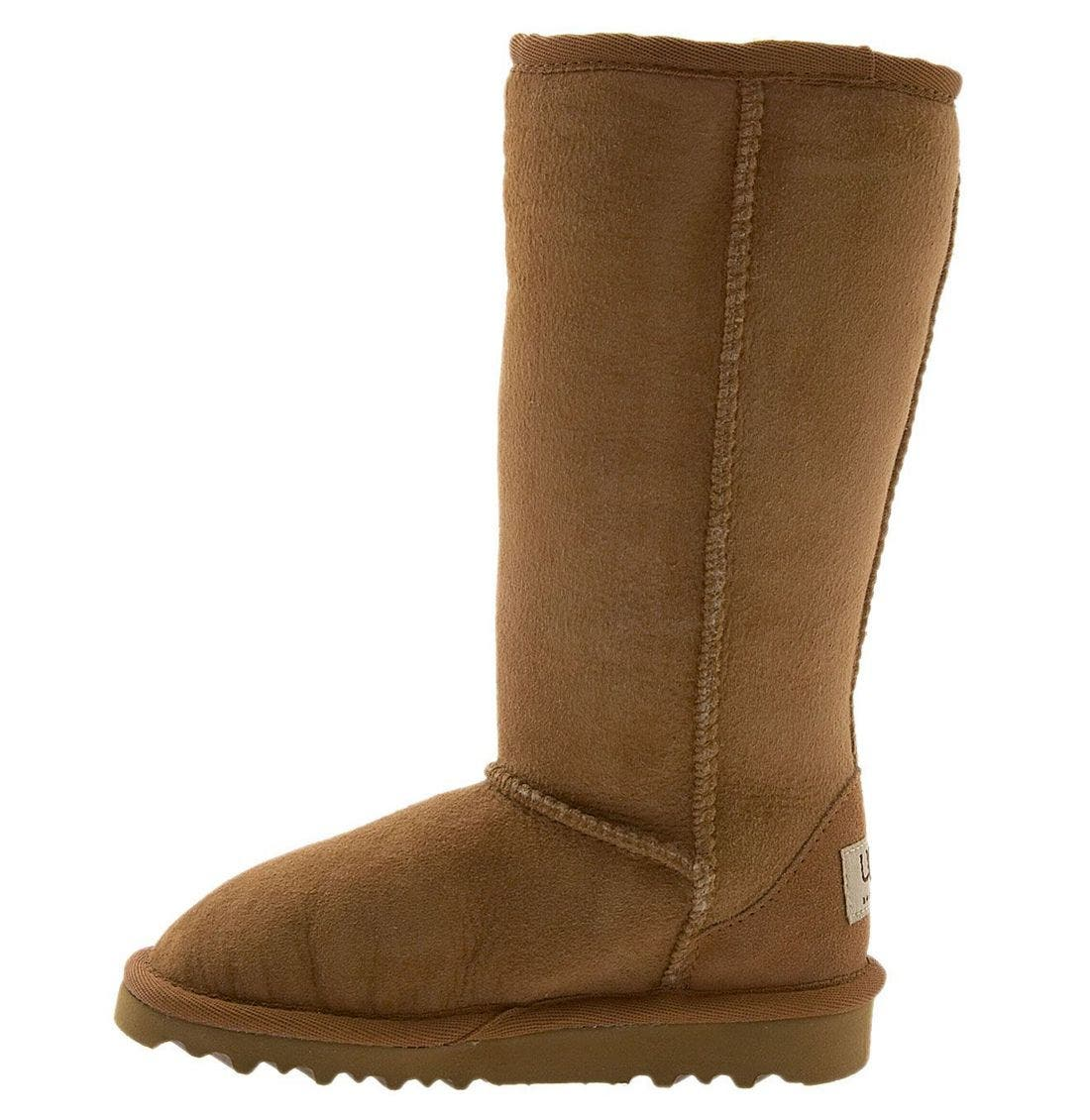 Alternate Image 2  - UGG® Classic Tall Boot (Little Kid & Big Kid)