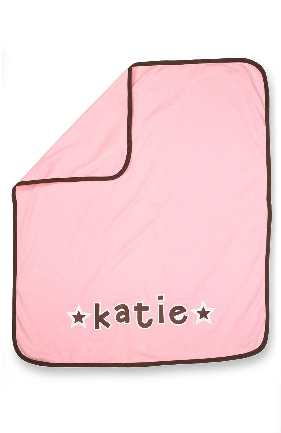 Alternate Image 1 Selected - Two Tinas Personalized Blanket