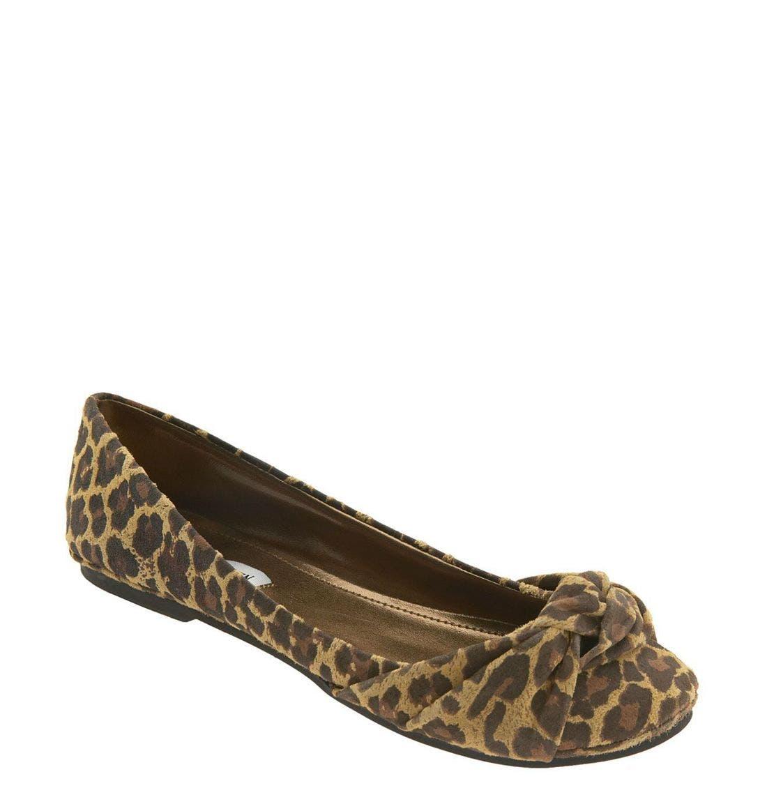 'Crunchh' Flat,                         Main,                         color, Leopard