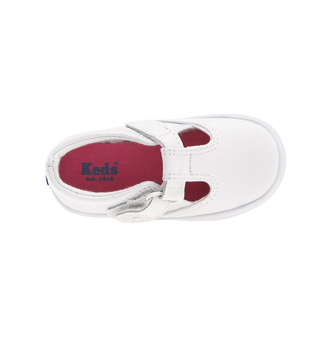 Alternate Image 3  - Keds® Daphne T-Strap (Baby, Walker & Toddler)