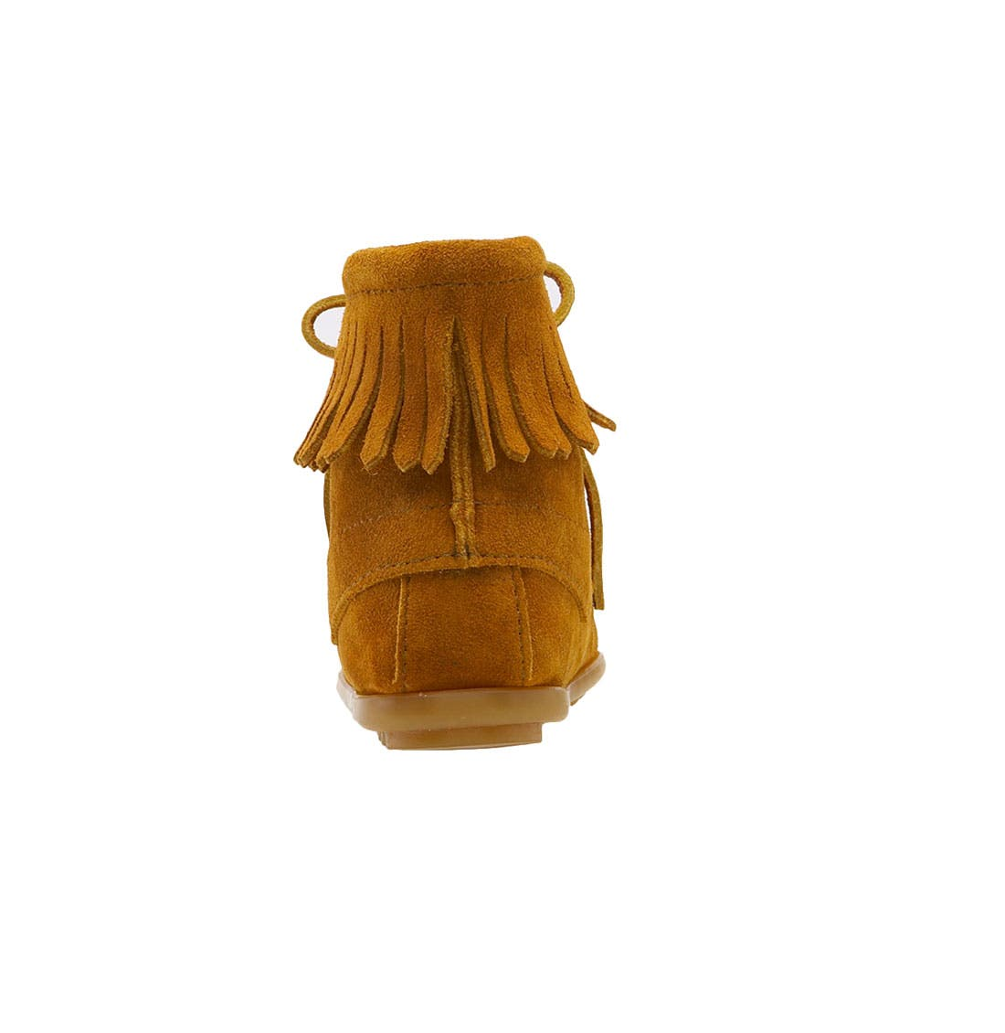 Alternate Image 4  - Minnetonka Lace-Up Boot (Walker, Toddler & Little Kid)