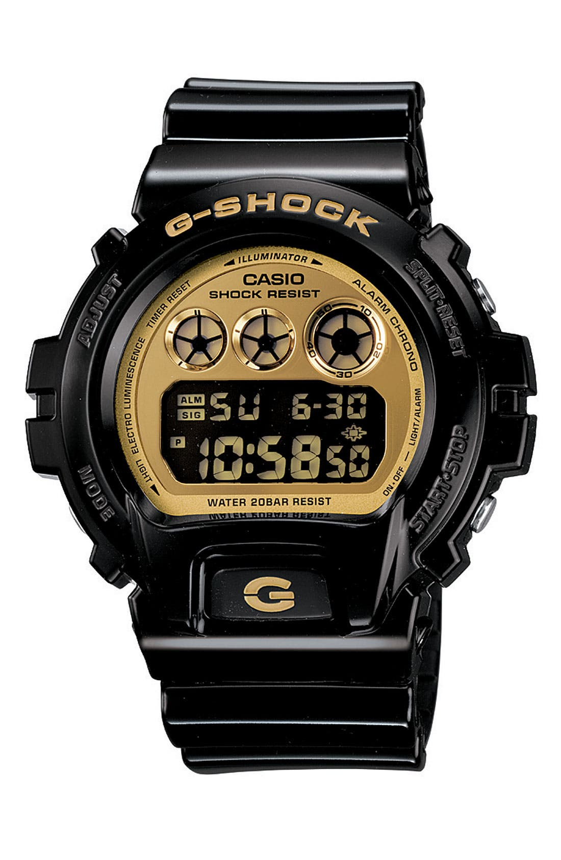 Main Image - G-Shock 'Mirror Metallic' Digital Watch, 53mm