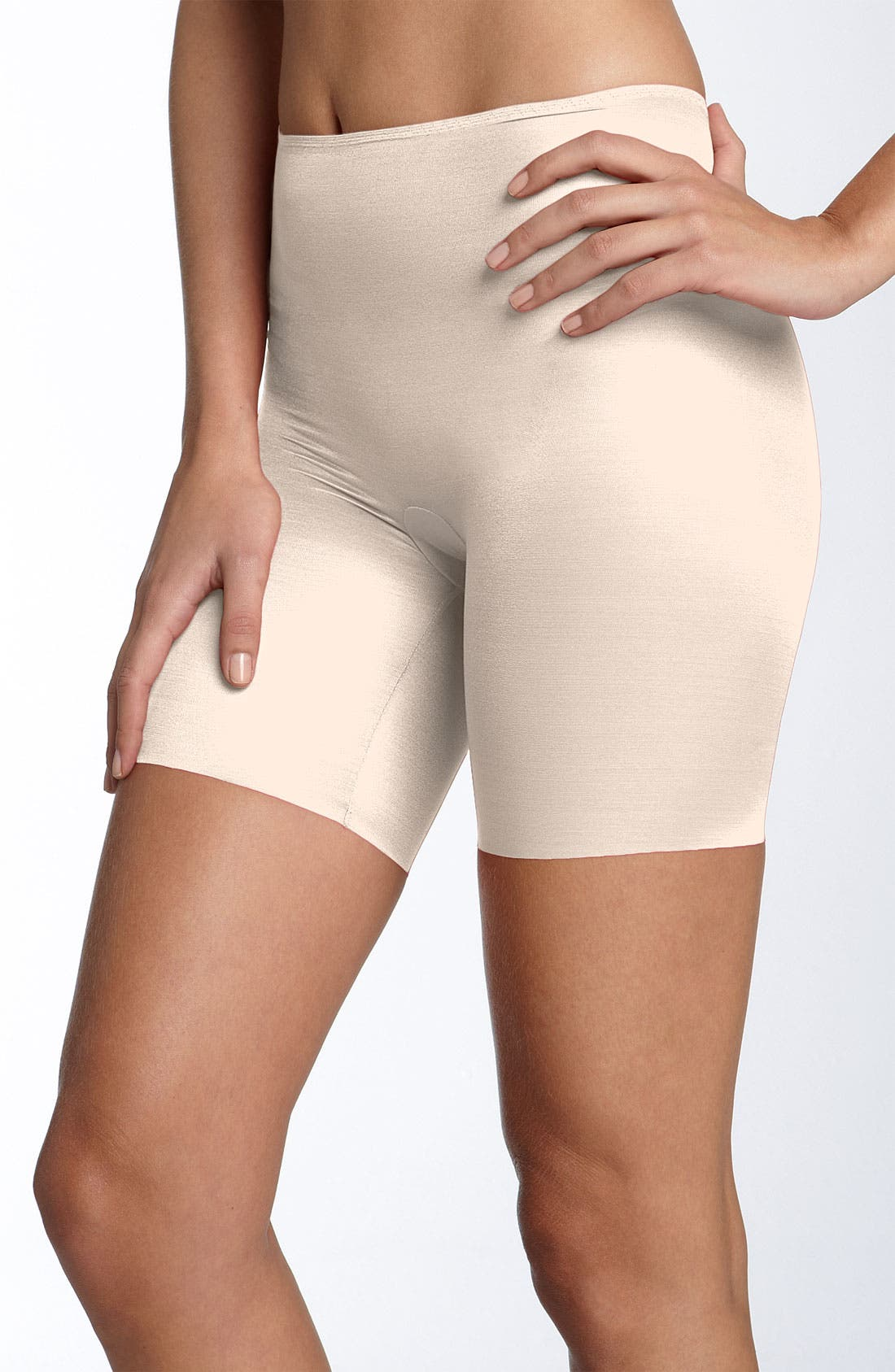 Alternate Image 1 Selected - SPANX® 'Skinny Britches' Shorts (Shaper)
