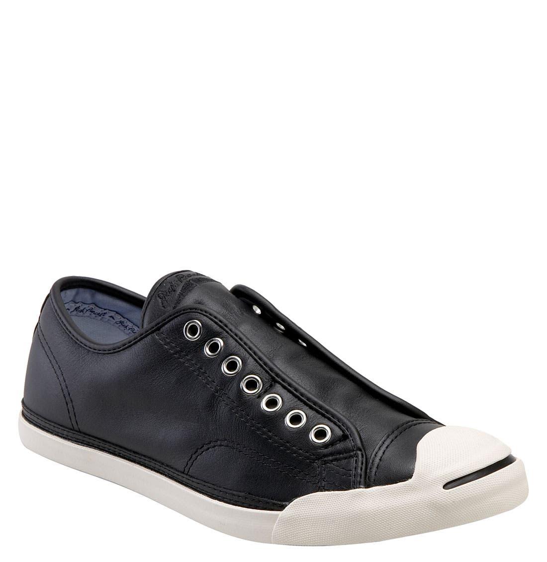 Alternate Image 1 Selected - Converse 'Jack Purcell LP' Slip-On Sneaker