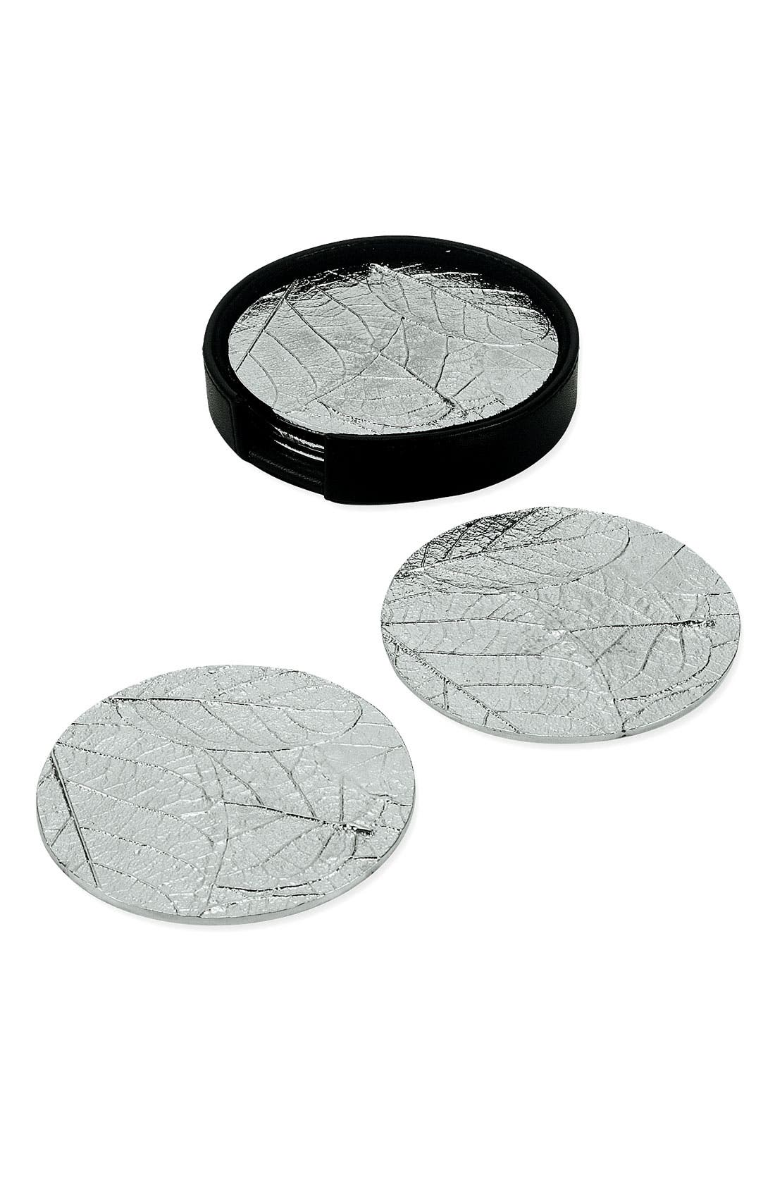 Main Image - Michael Aram 'Forest Leaf' Coasters (Set of 6)