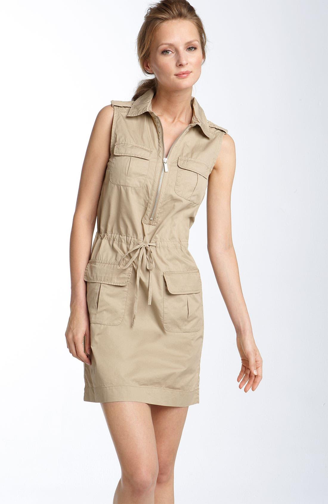 Main Image - MICHAEL Michael Kors Safari Dress (Petite)