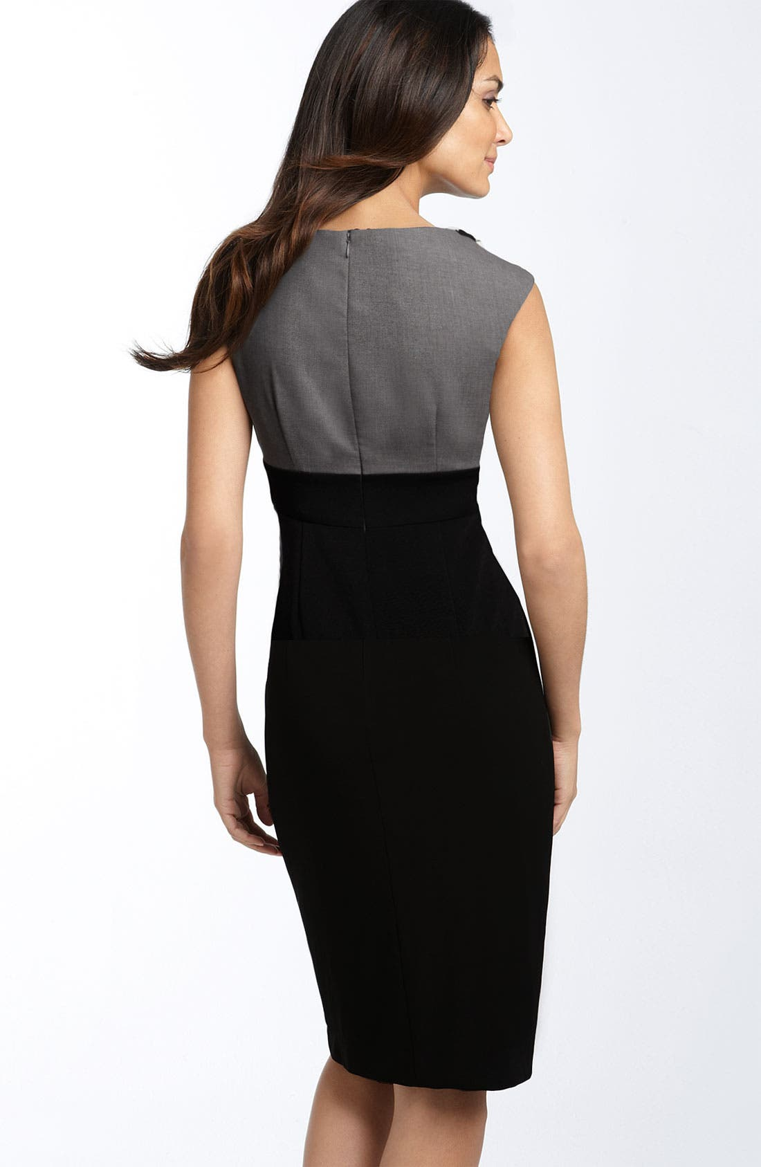 Alternate Image 2  - Suzi Chin for Maggy Boutique Embellished Mock Two Piece Dress