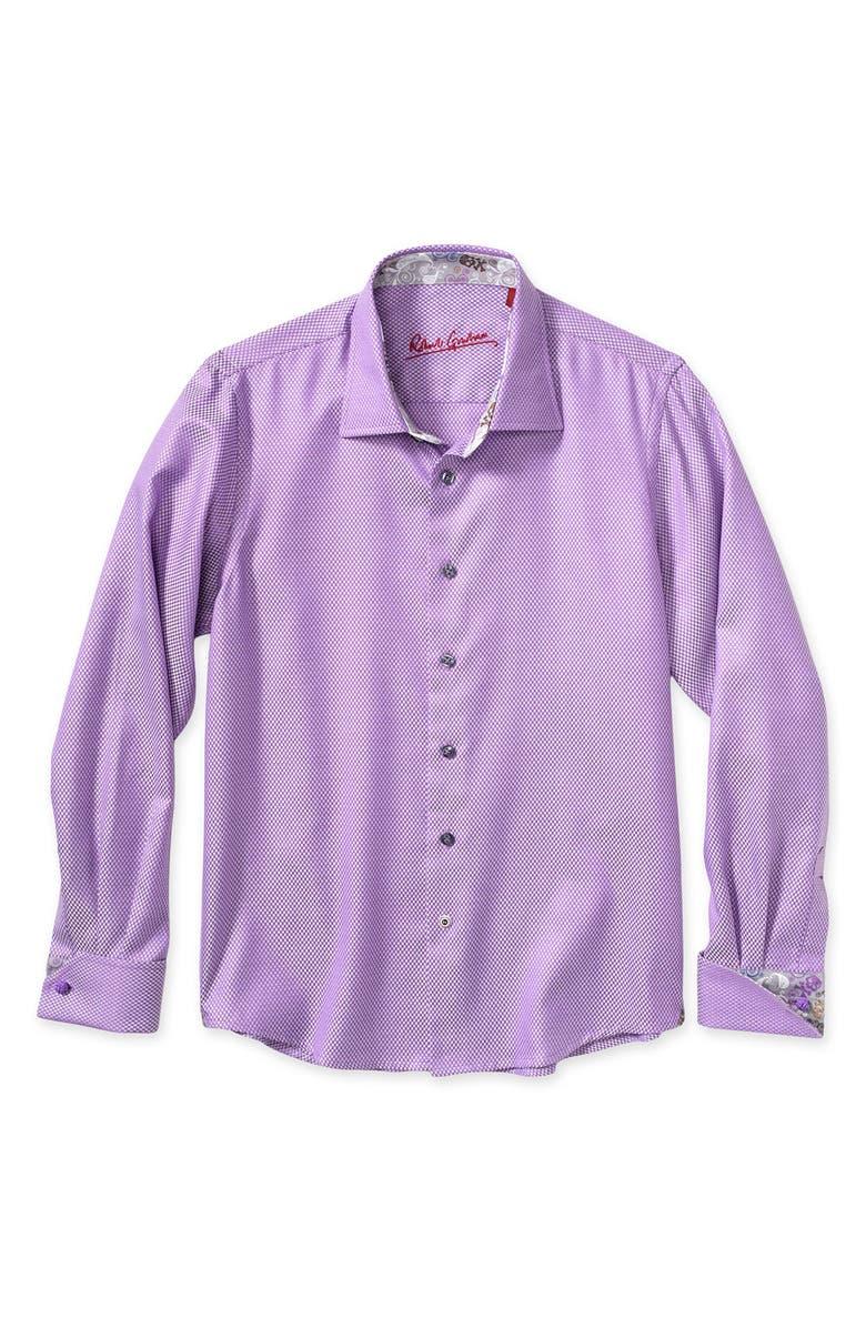 Robert Graham French Cuff Dress Shirt Big Boys Nordstrom
