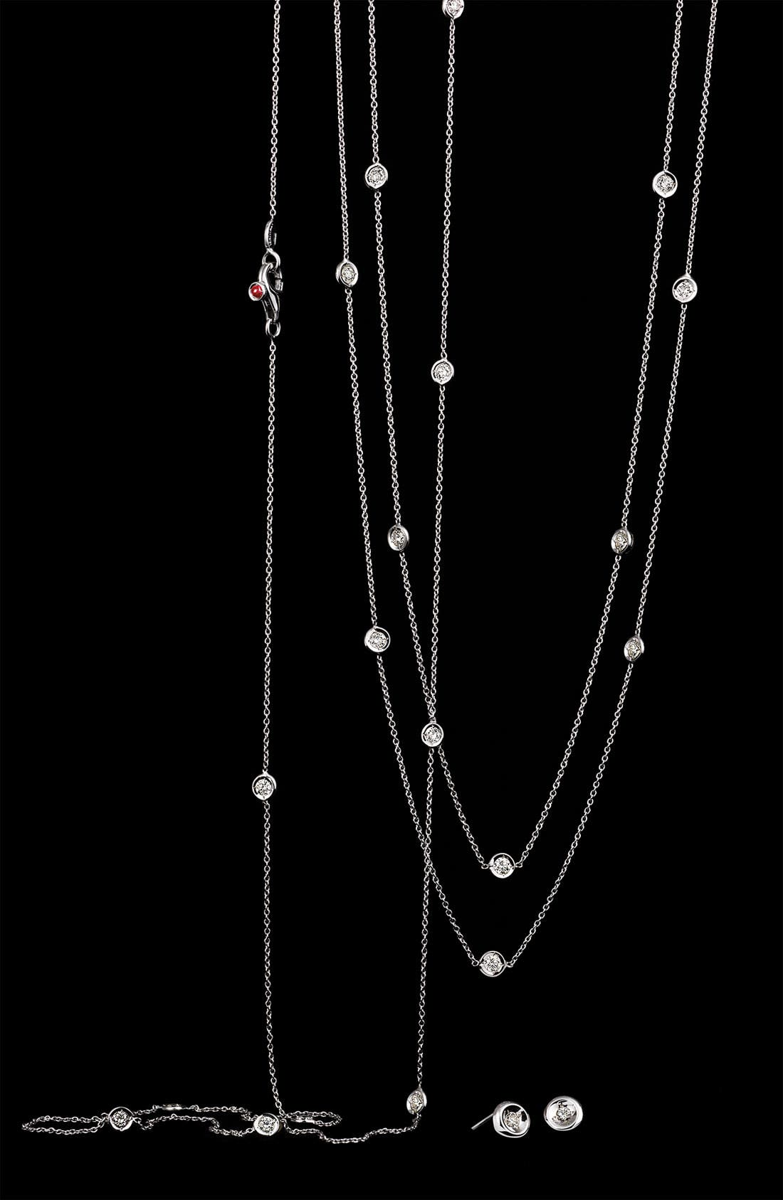 Alternate Image 3  - Roberto Coin 'Diamonds by the Inch' Station Necklace