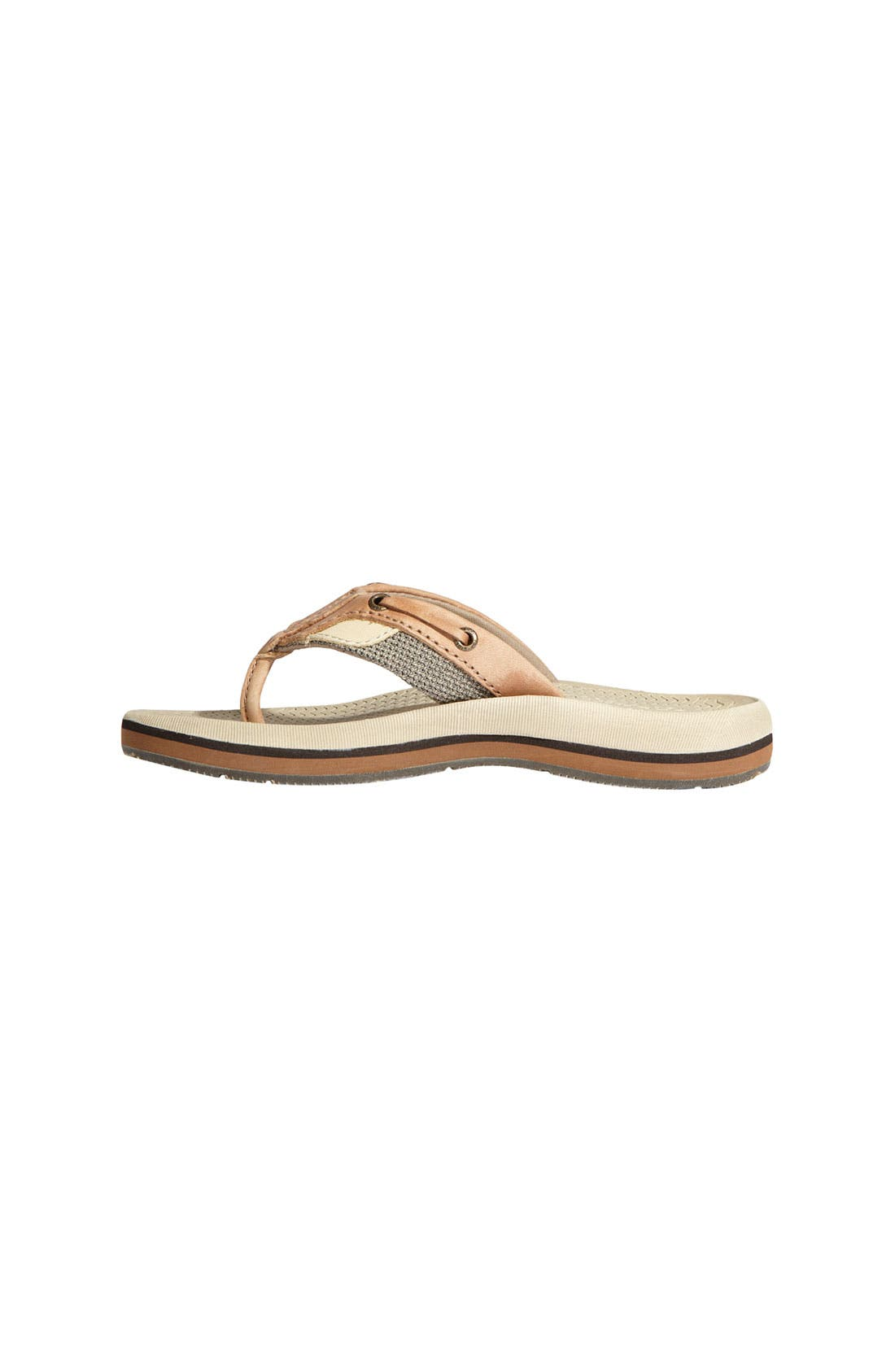 Alternate Image 2  - Sperry Top-Sider® Kids 'Bluefish' Thong Sandal (Little Kid & Big Kid)