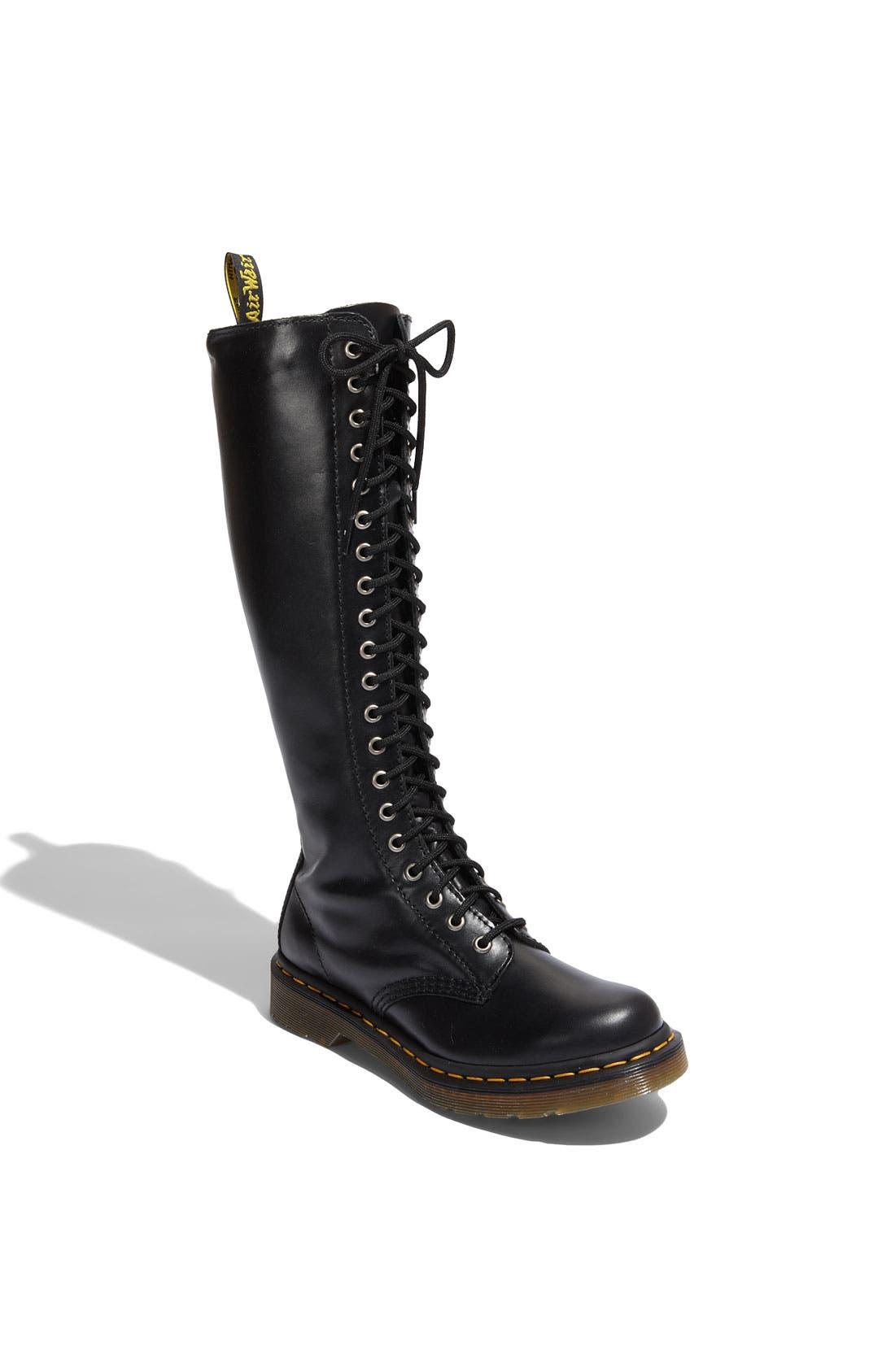 Alternate Image 1 Selected - Dr. Martens '1B60 20 Eye Zip' Boot (Women)