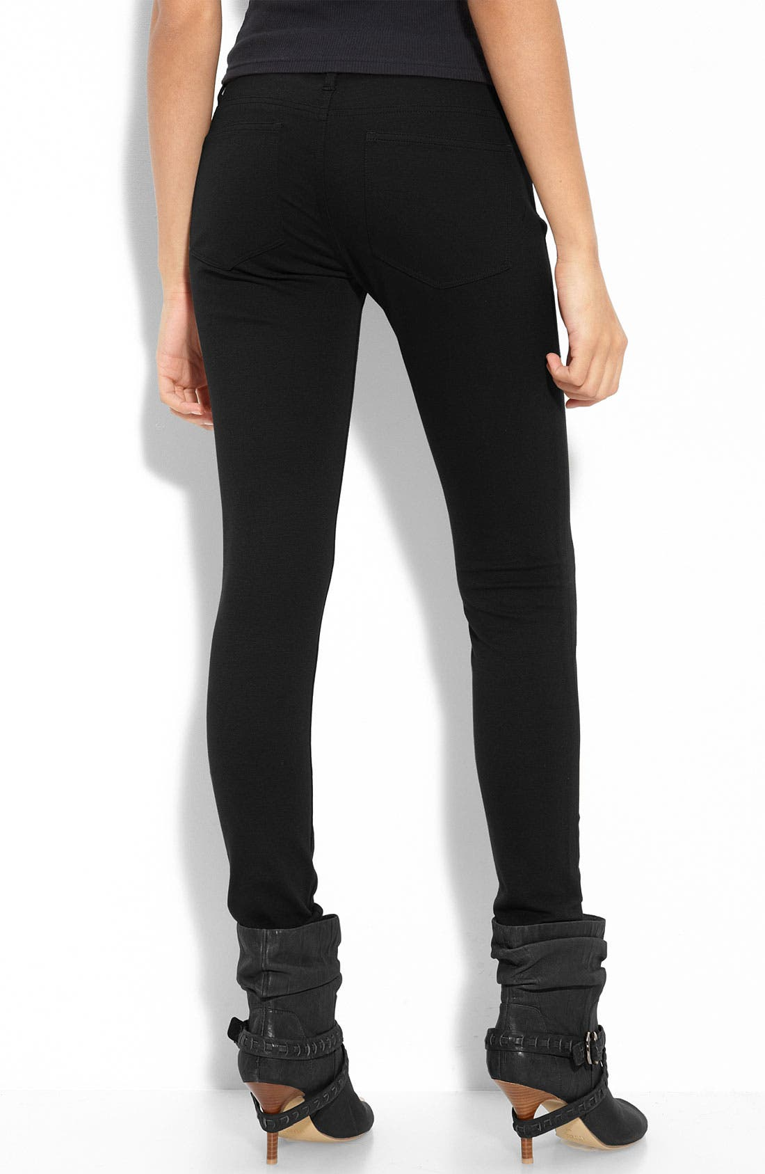 Alternate Image 2  - Paige Denim Ponte Knit Leggings