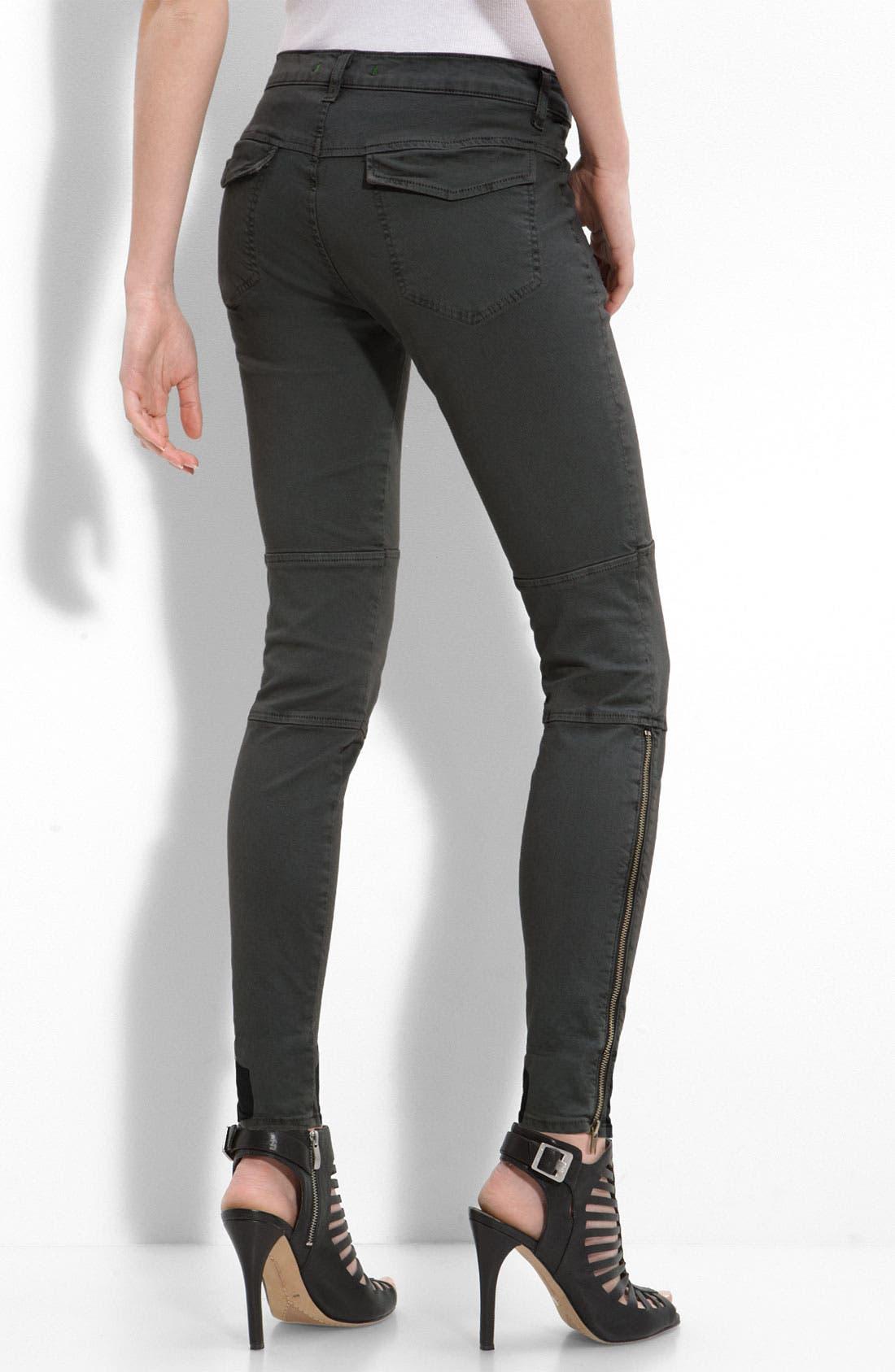 Alternate Image 2  - J Brand 'Agnes' Stretch Twill Pants