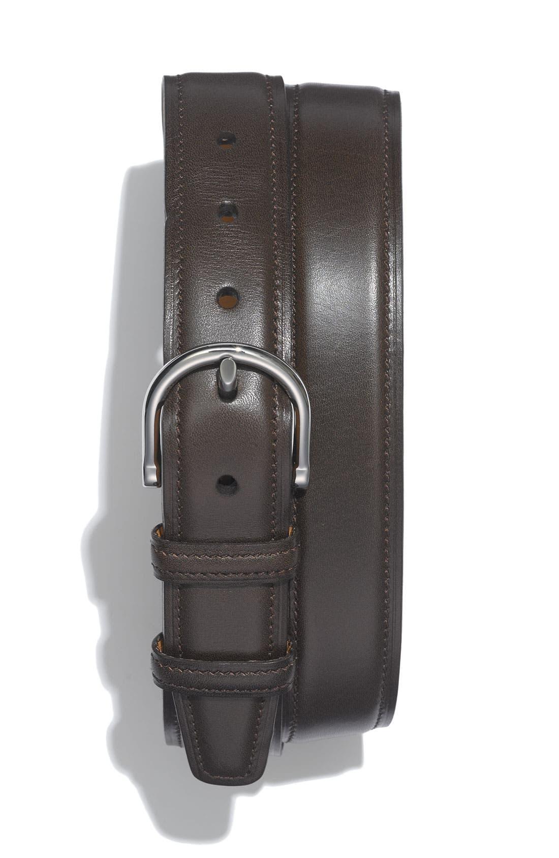Main Image - Allen Edmonds Bridle Leather Belt