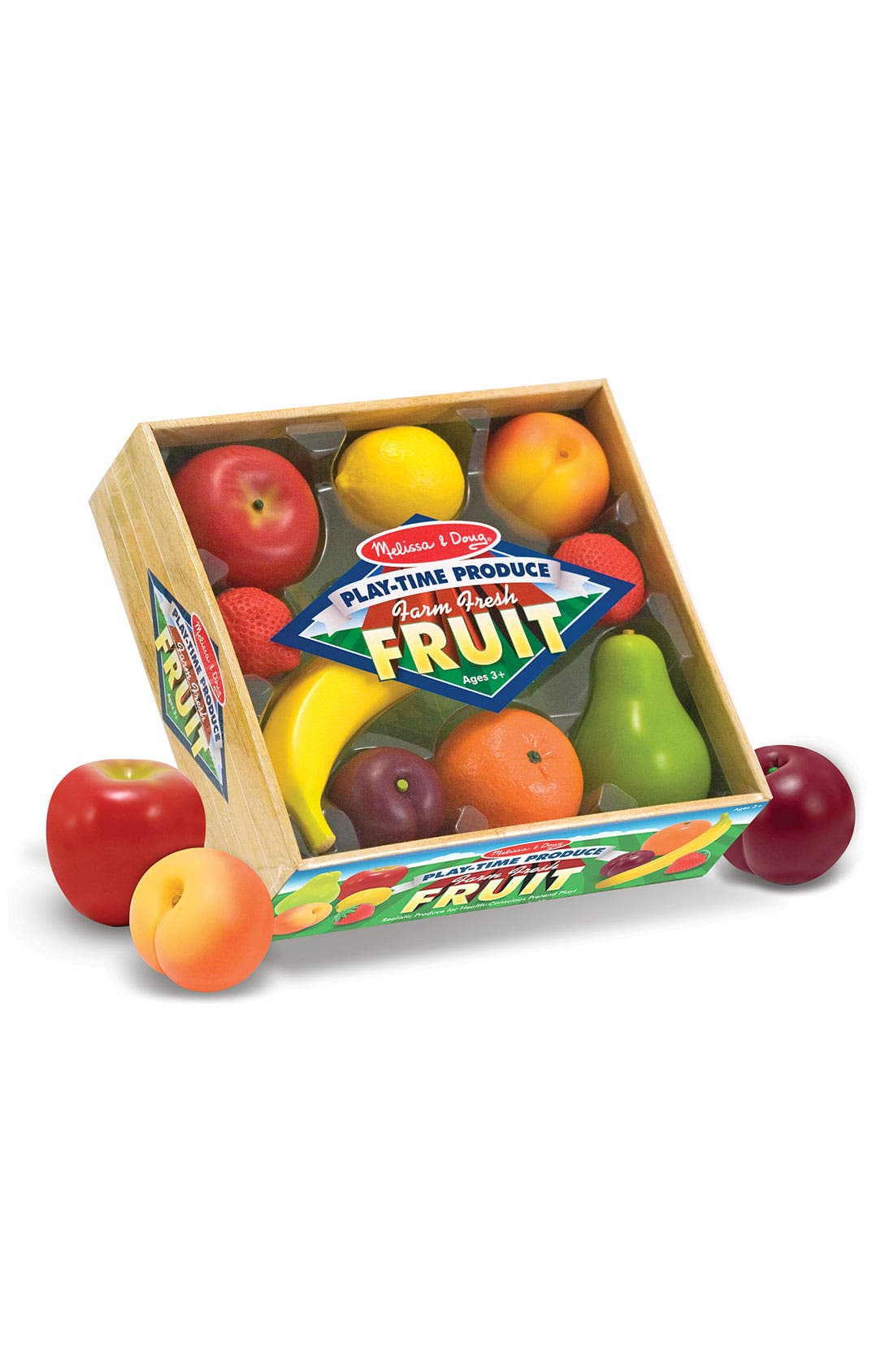 Main Image - Melissa & Doug Play Time Fruit Crate