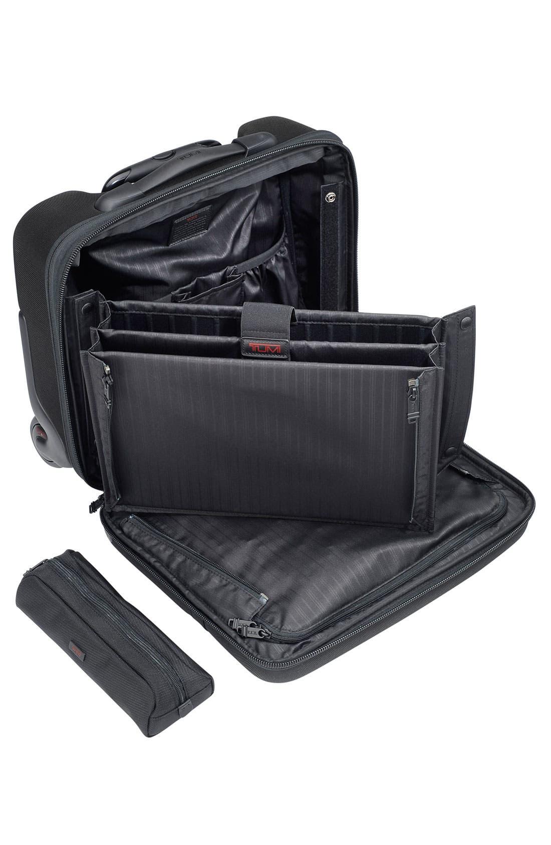 Alternate Image 2  - Tumi 'Alpha' Compact Wheeled Briefcase