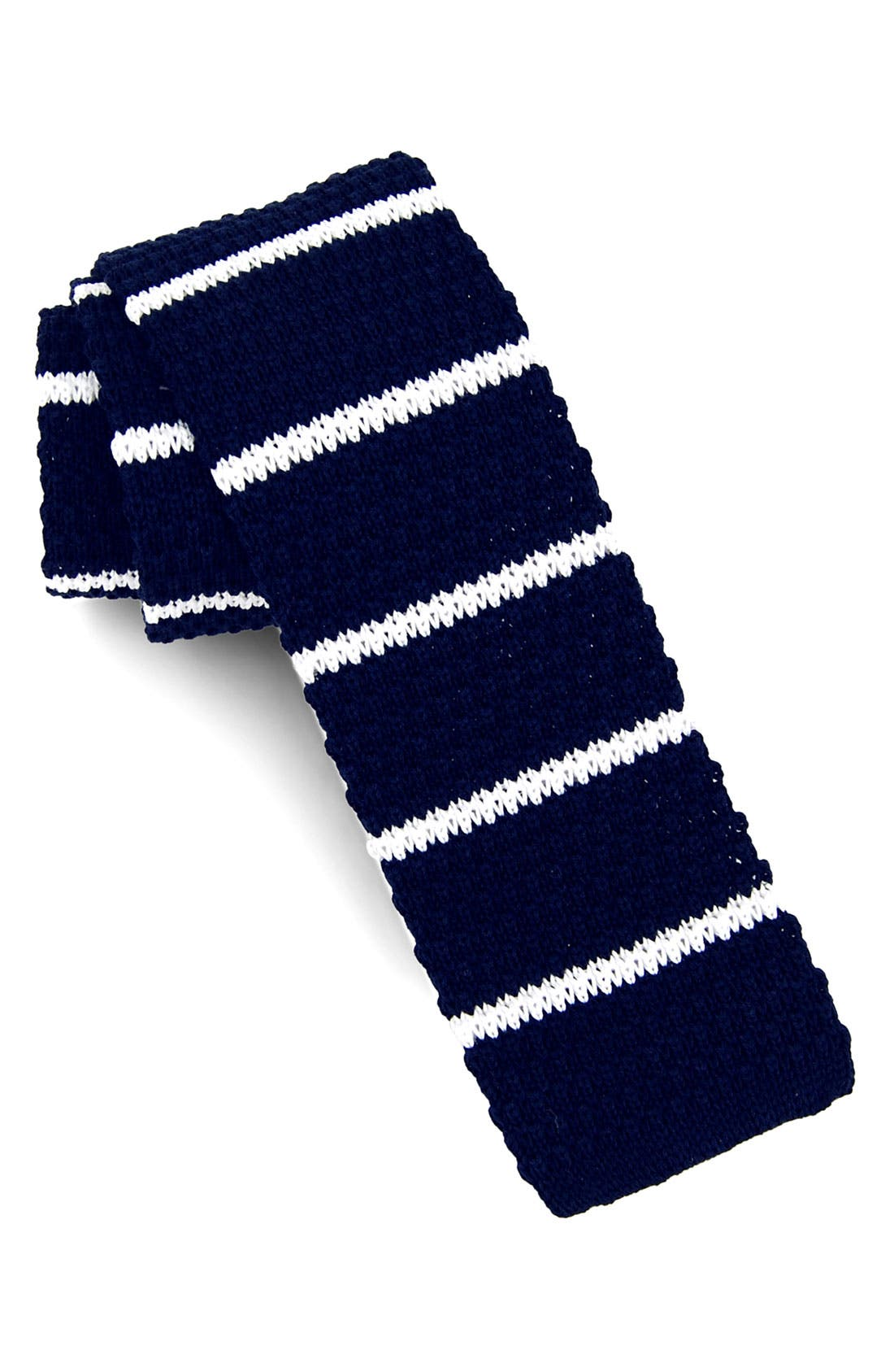 Alternate Image 1 Selected - 1901 Knit Cotton Tie