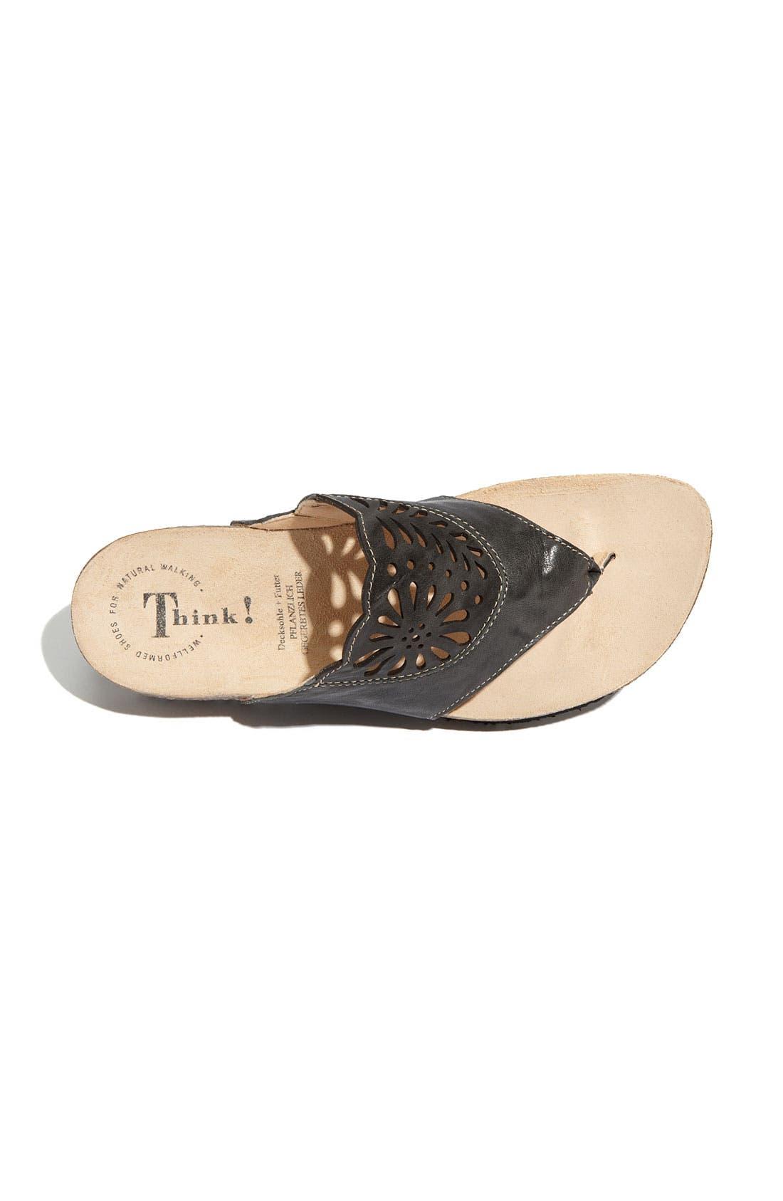 Alternate Image 3  - Think! 'Julia' Thong Sandal