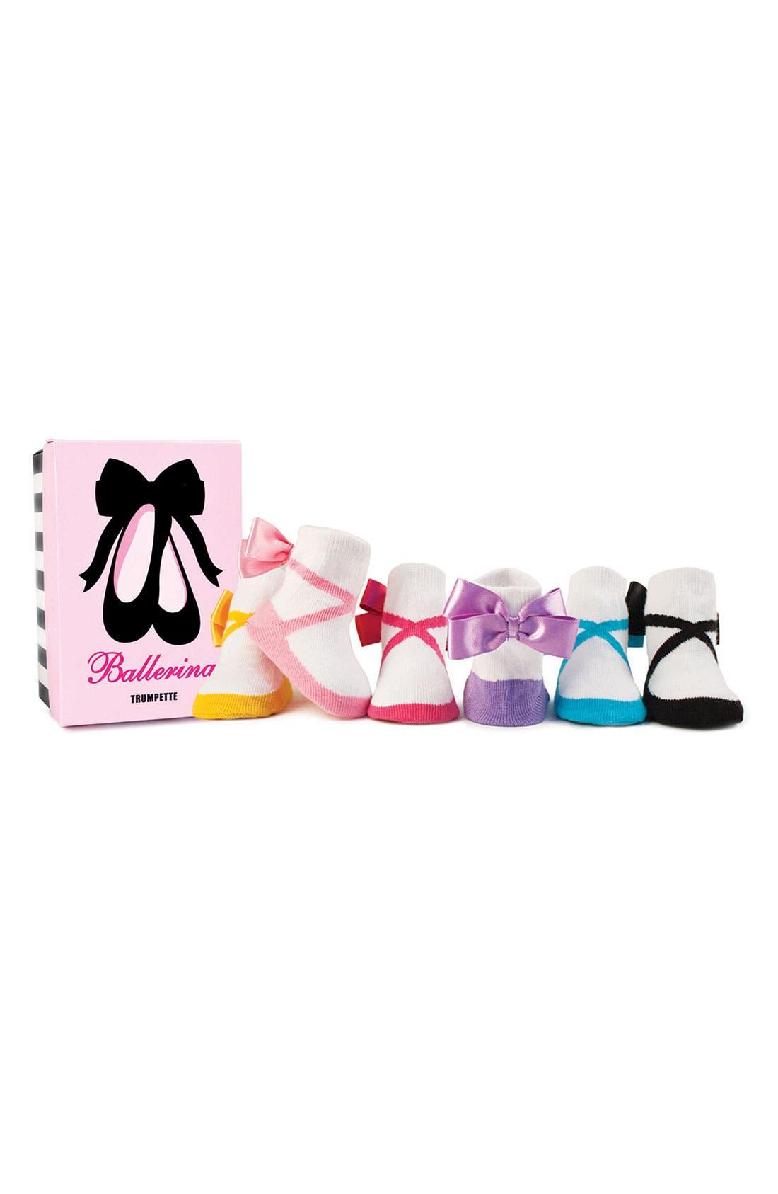 Socks,                         Main,                         color, Ballerina