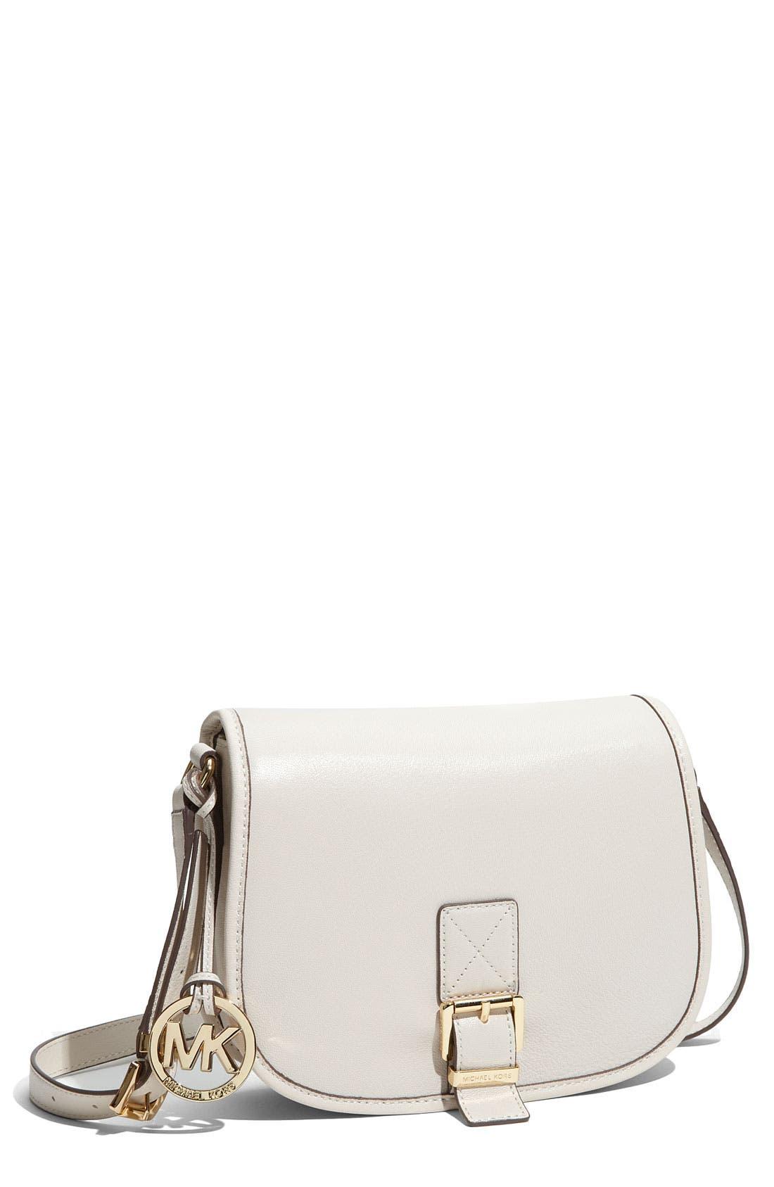 Main Image - MICHAEL Michael Kors 'Medium' Messenger Saddle Bag