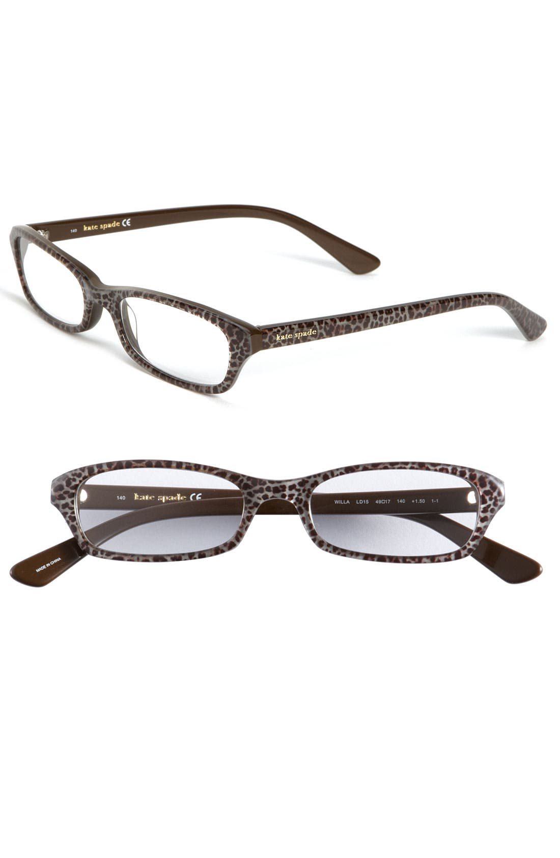 Alternate Image 1 Selected - kate spade new york 'willa' reading glasses (Online Only)