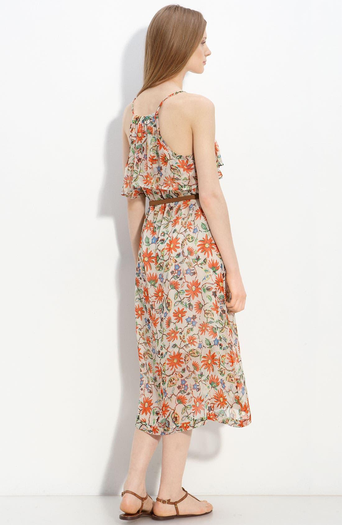 Alternate Image 2  - Joie 'Camay' Belted Silk Dress