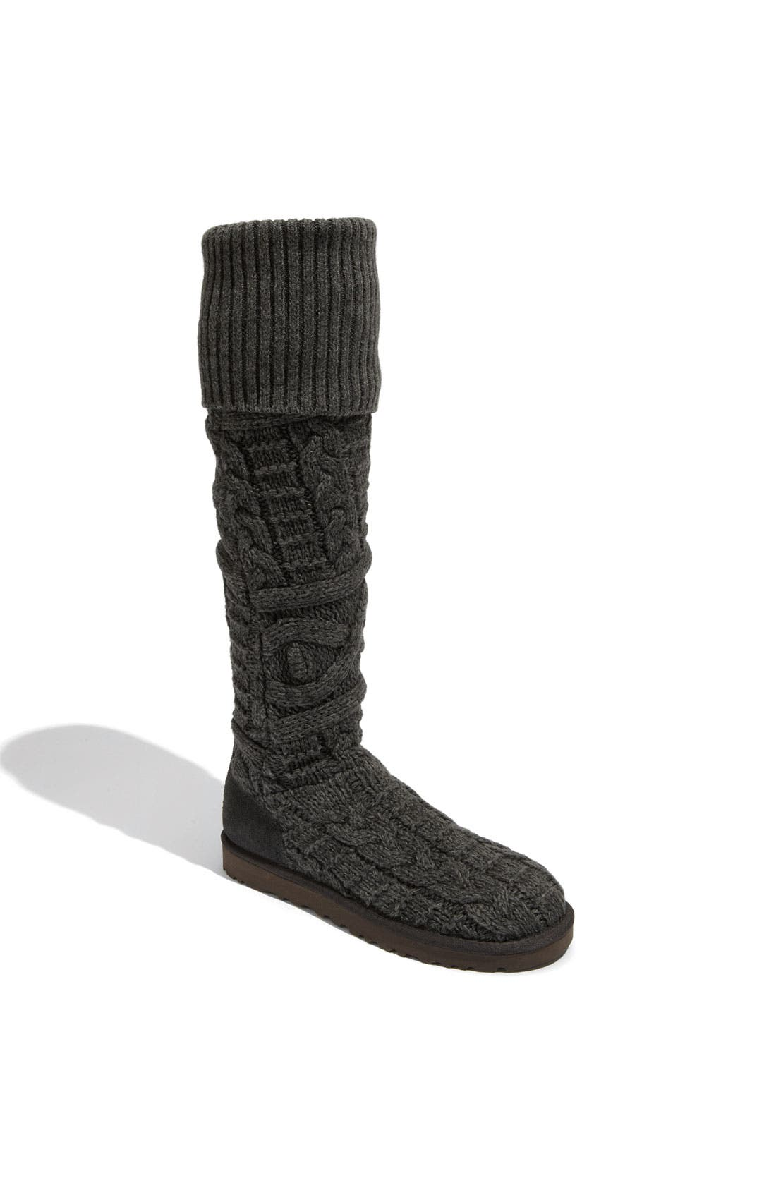 Alternate Image 1 Selected - UGG® Australia 'Twisted Cable' Over the Knee Boot