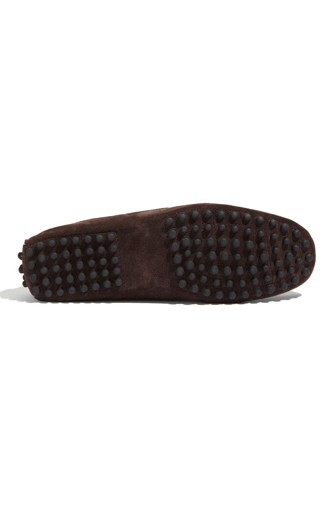 'Tobago' Driving Shoe,                             Alternate thumbnail 3, color,                             Brown