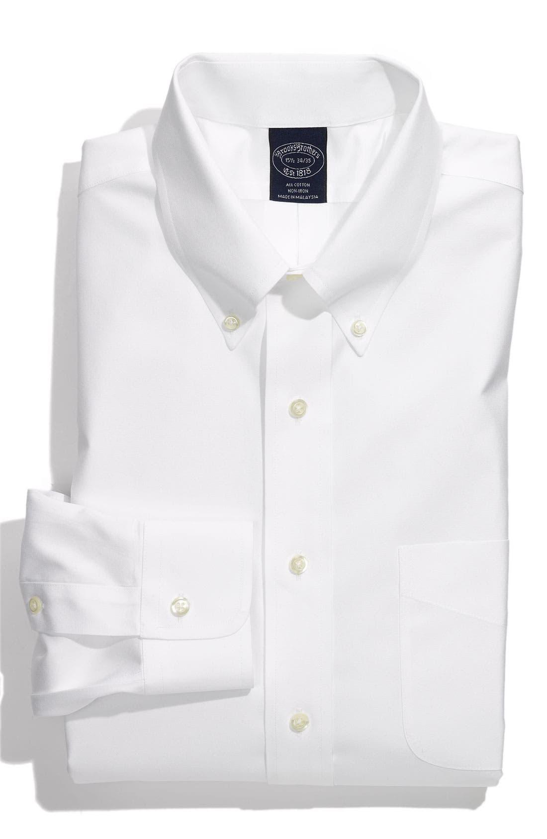 Alternate Image 1 Selected - Brooks Brothers Non-Iron Dress Shirt