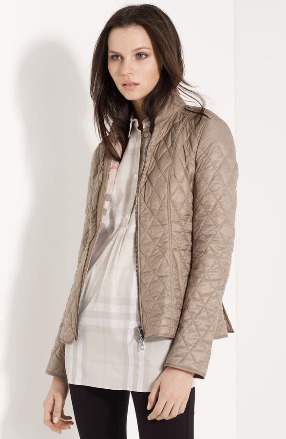 Burberry Brit Quilted Jacket   Nordstrom : burberry brit jacket quilted - Adamdwight.com