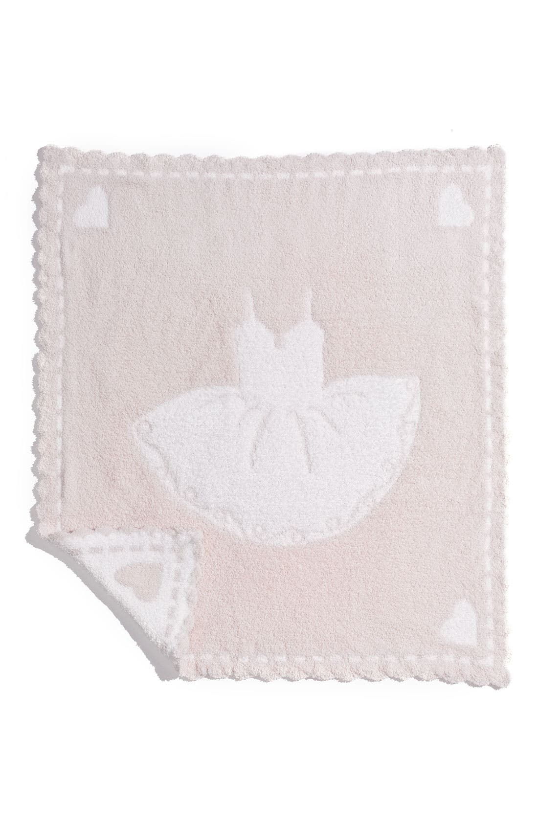 Receiving Blanket,                         Main,                         color, Pink/ White