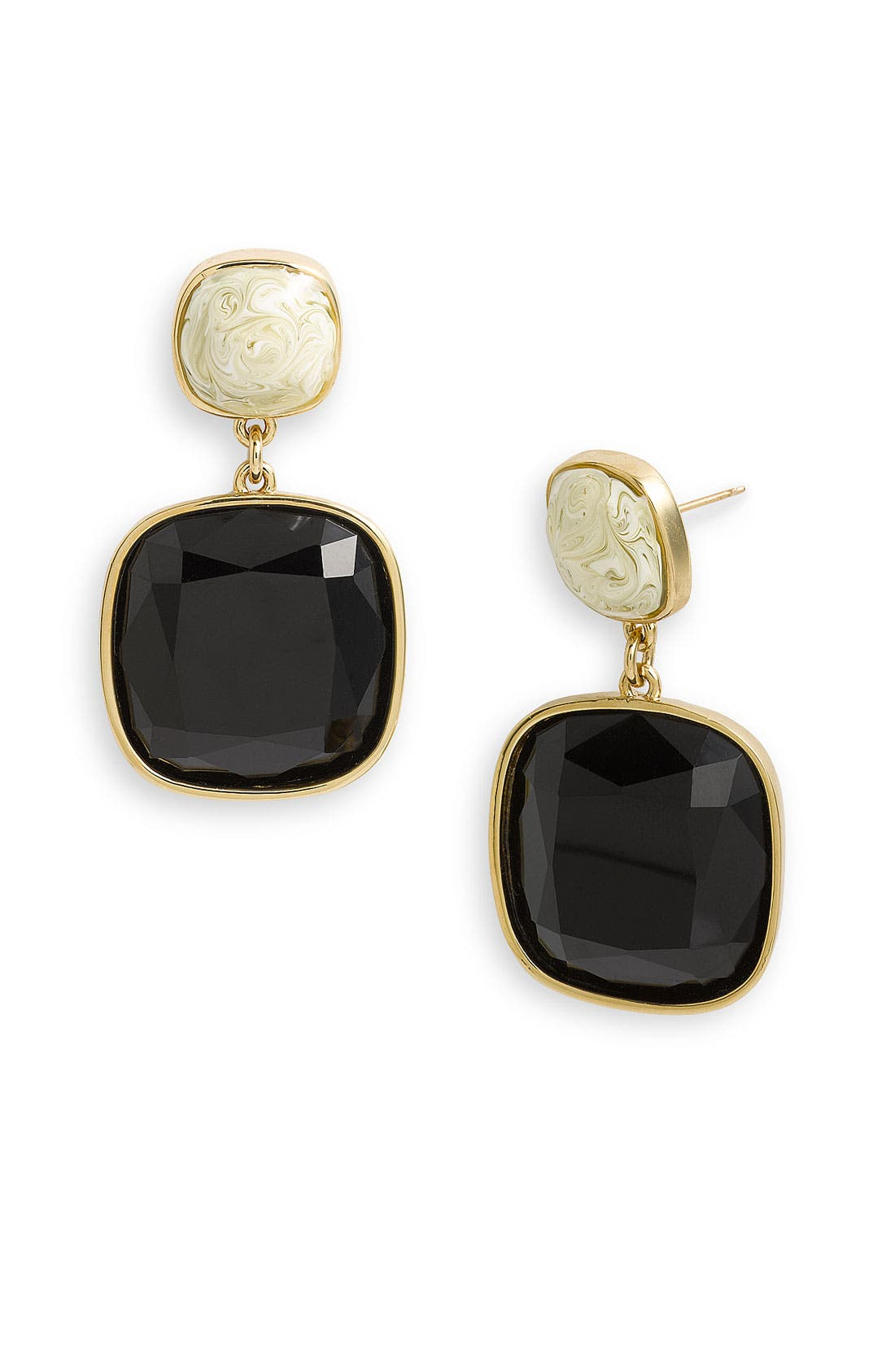 Main Image - kate spade new york 'cobblestone' drop earrings