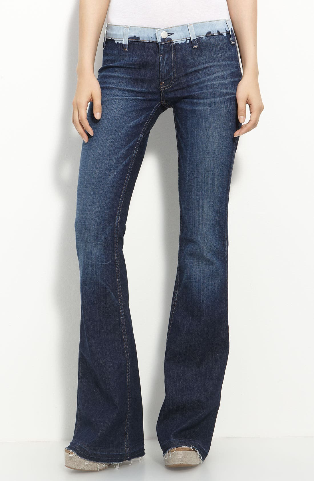 Main Image - TEXTILE Elizabeth and James Flare Leg Stretch Jeans