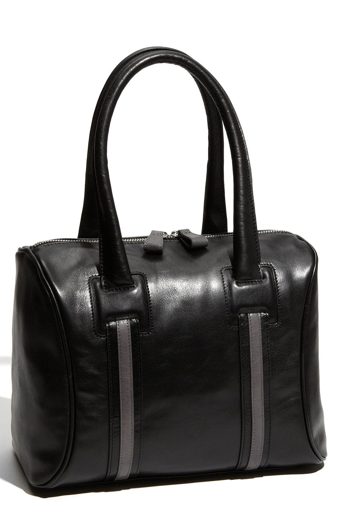 Main Image - Halogen® 2-Tone Leather Satchel