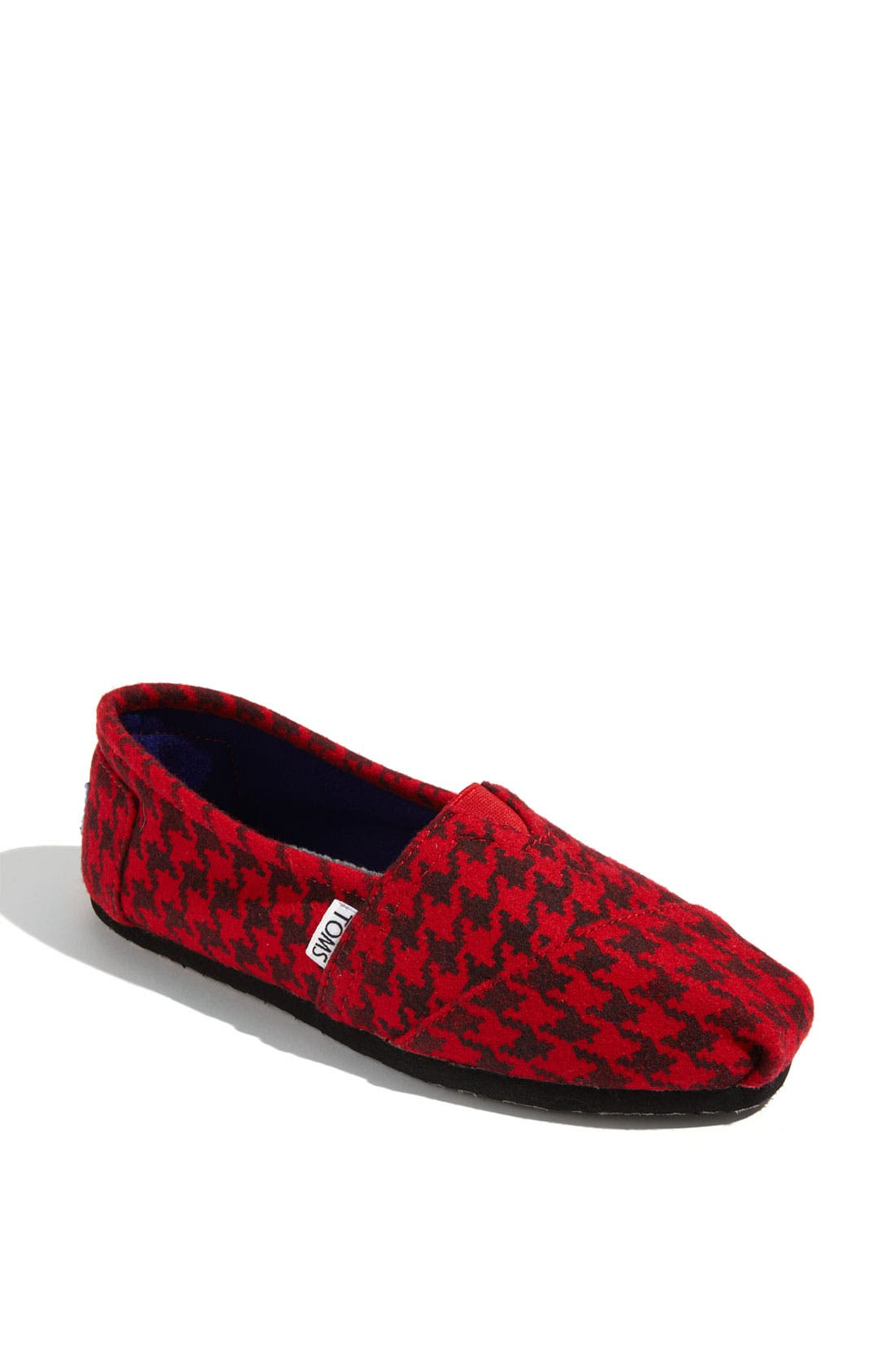 Alternate Image 1 Selected - TOMS 'Classic' Houndstooth Slip-On (Women)
