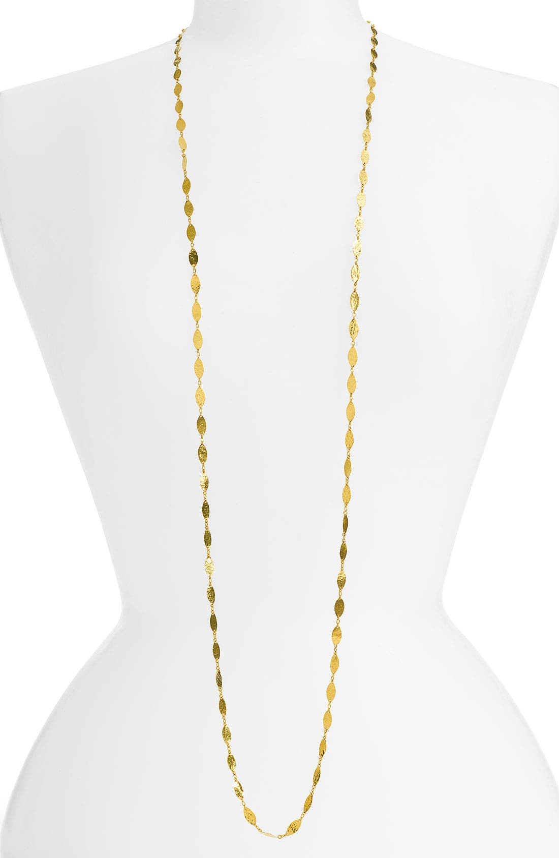 Main Image - Gurhan 'Willow' Extra Long Leaf Necklace