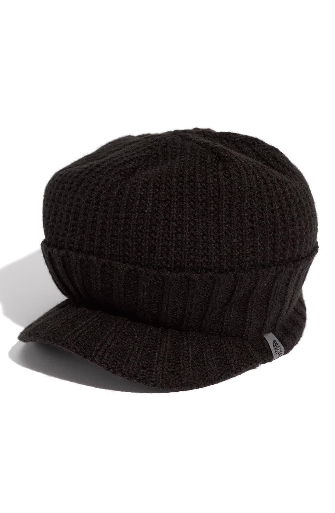Alternate Image 2  - The North Face 'GTO' Rib Knit Visor Beanie (Men)